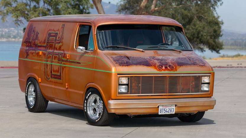 1984 Dodge Custom Van