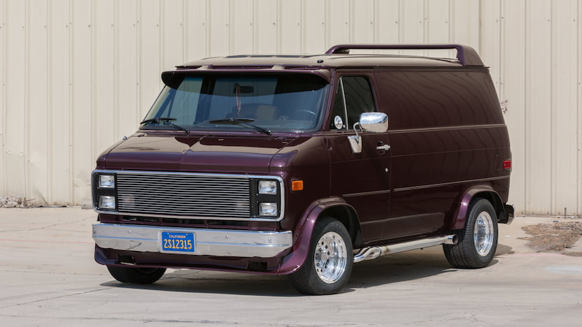 1985 Chevrolet Custom Van
