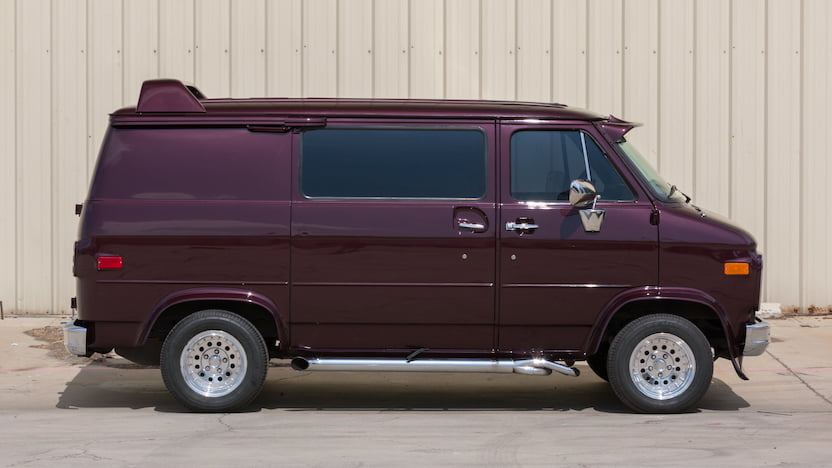 1985 Chevrolet Custom Van profile