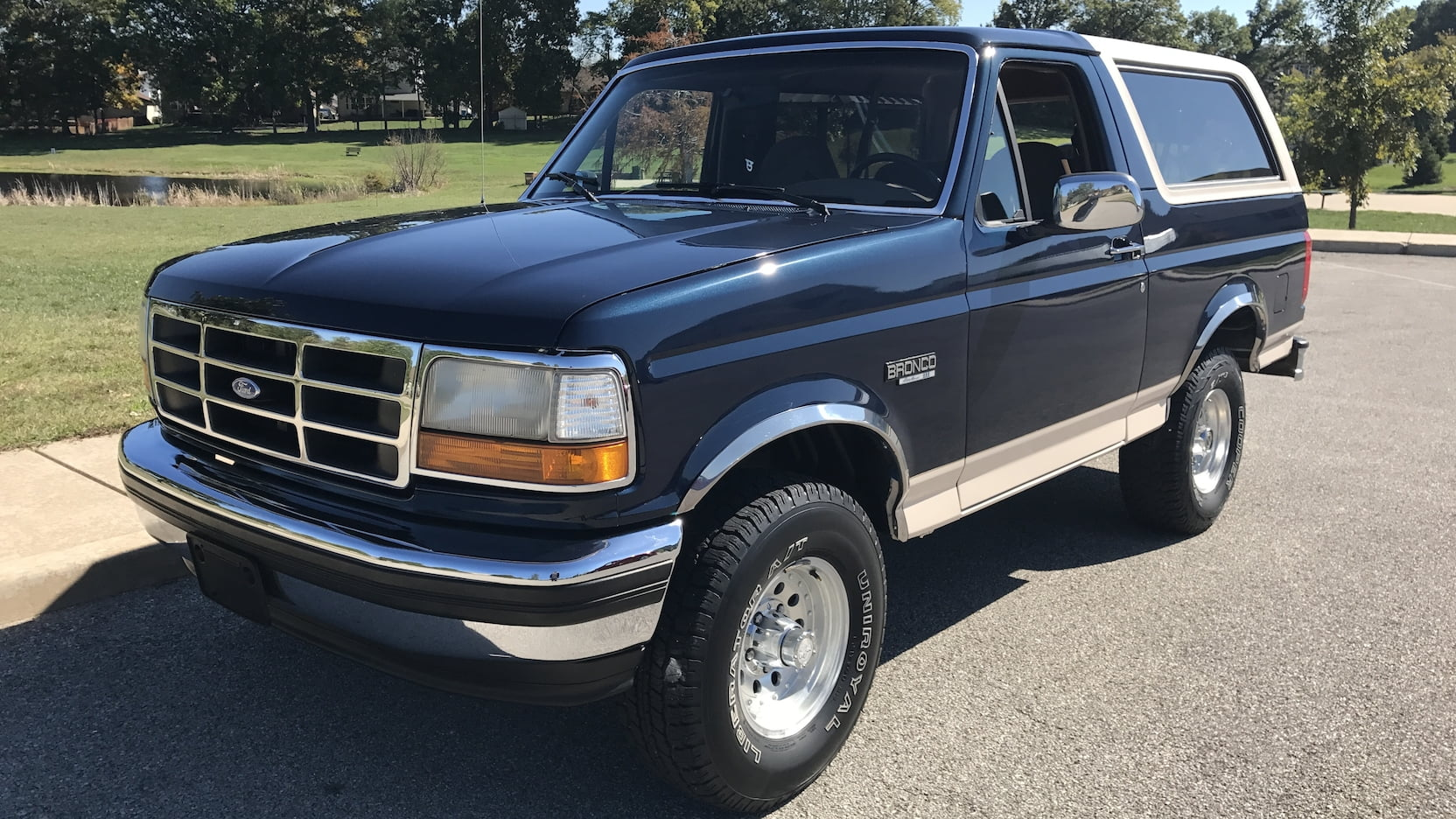 1993 Ford Bronco Eddie Bauer Edition