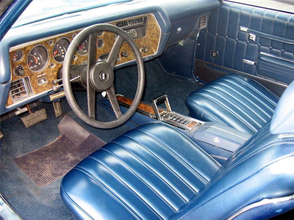 1971 Chevrolet Monte Carlo SS 454 interior