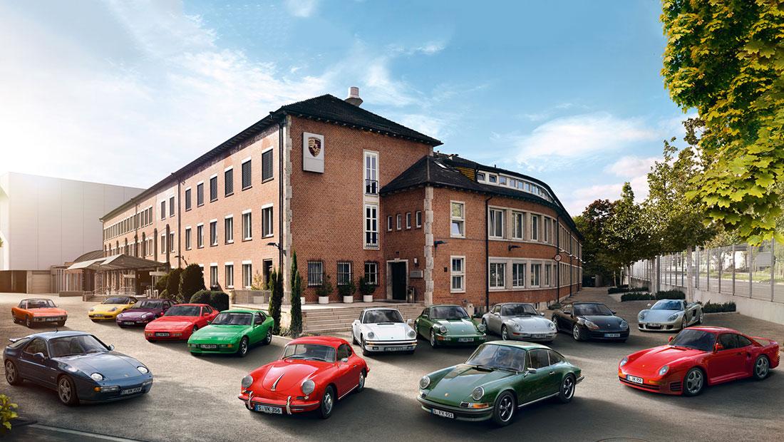 Porsche classic models