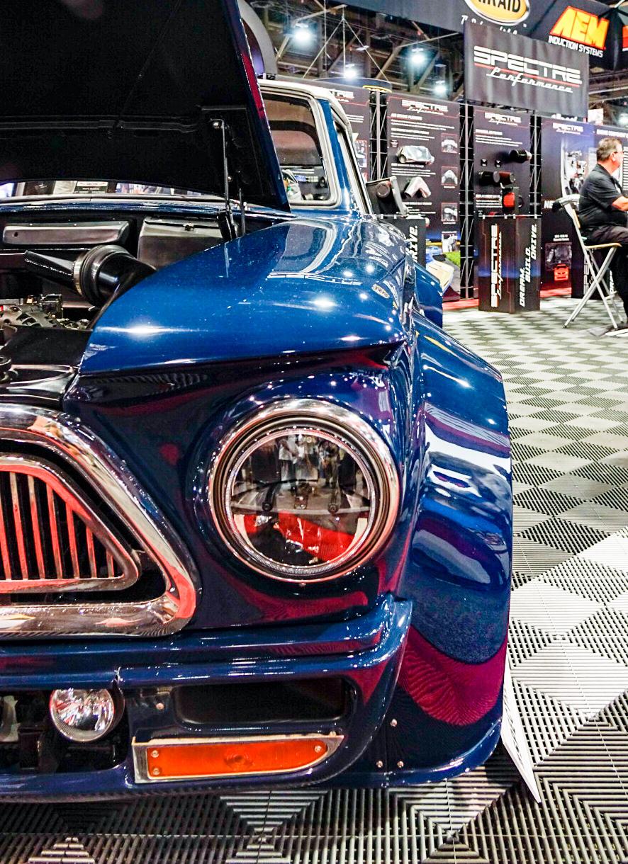 Bauter's 1963 wide-body AMC Rambler American 220 Wagon headlight