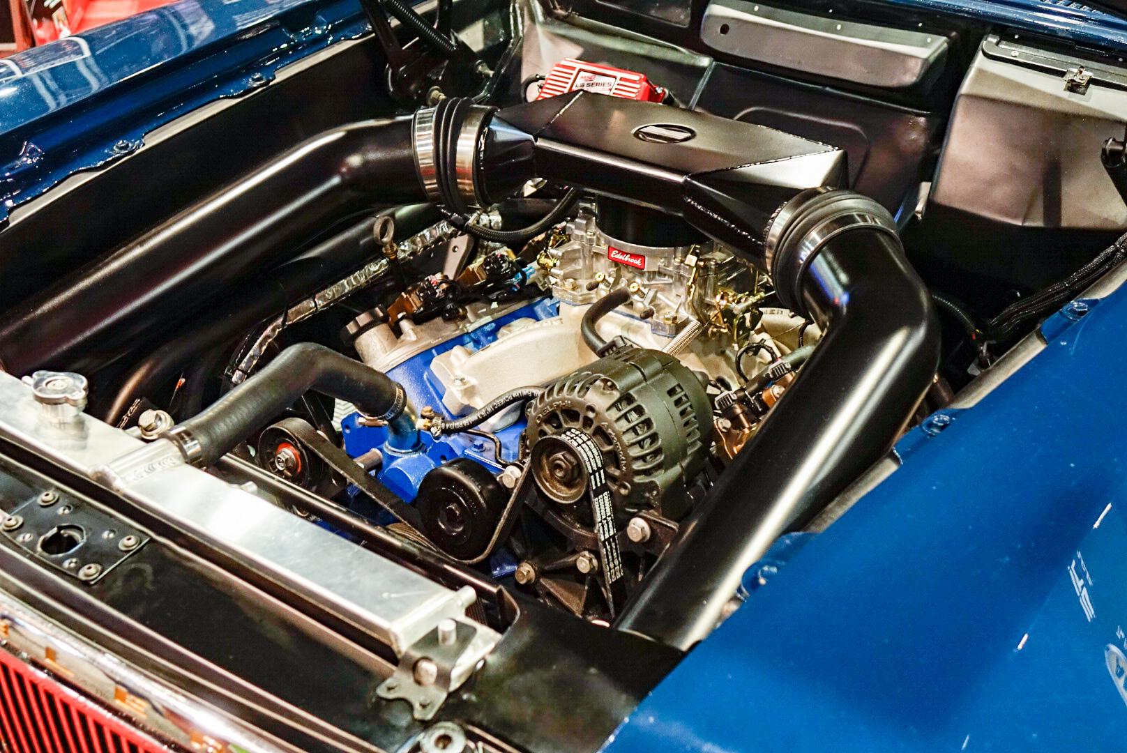 Bauter's 1963 wide-body AMC Rambler American 220 Wagon engine