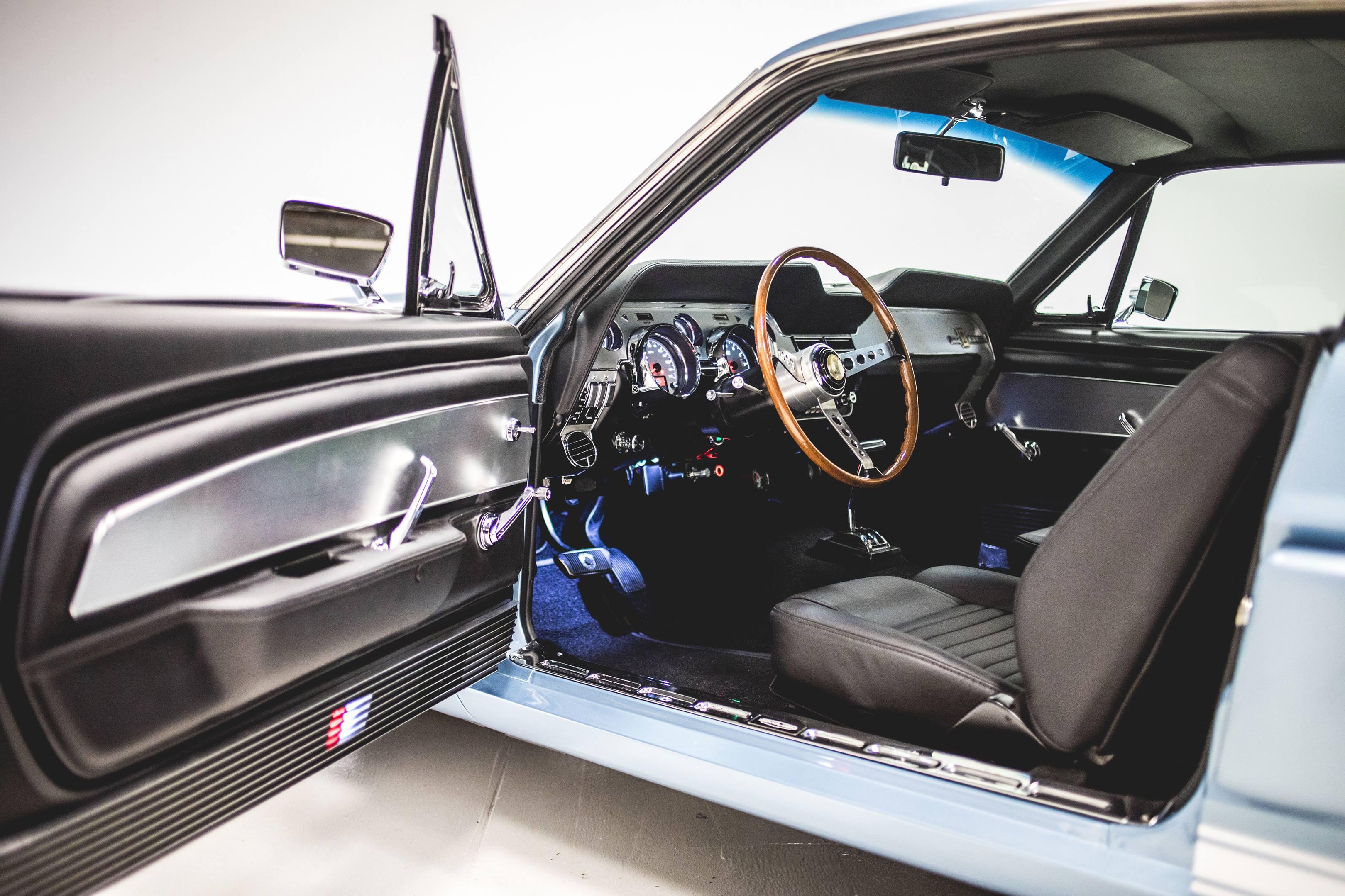 Revology Shelby GT350 interior
