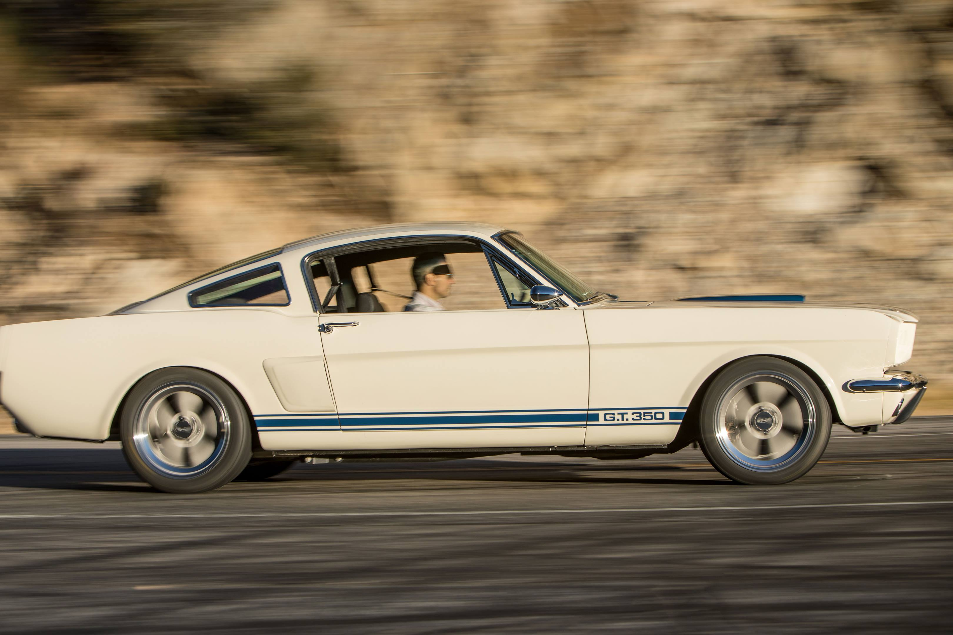 Revology GT350 driving profile