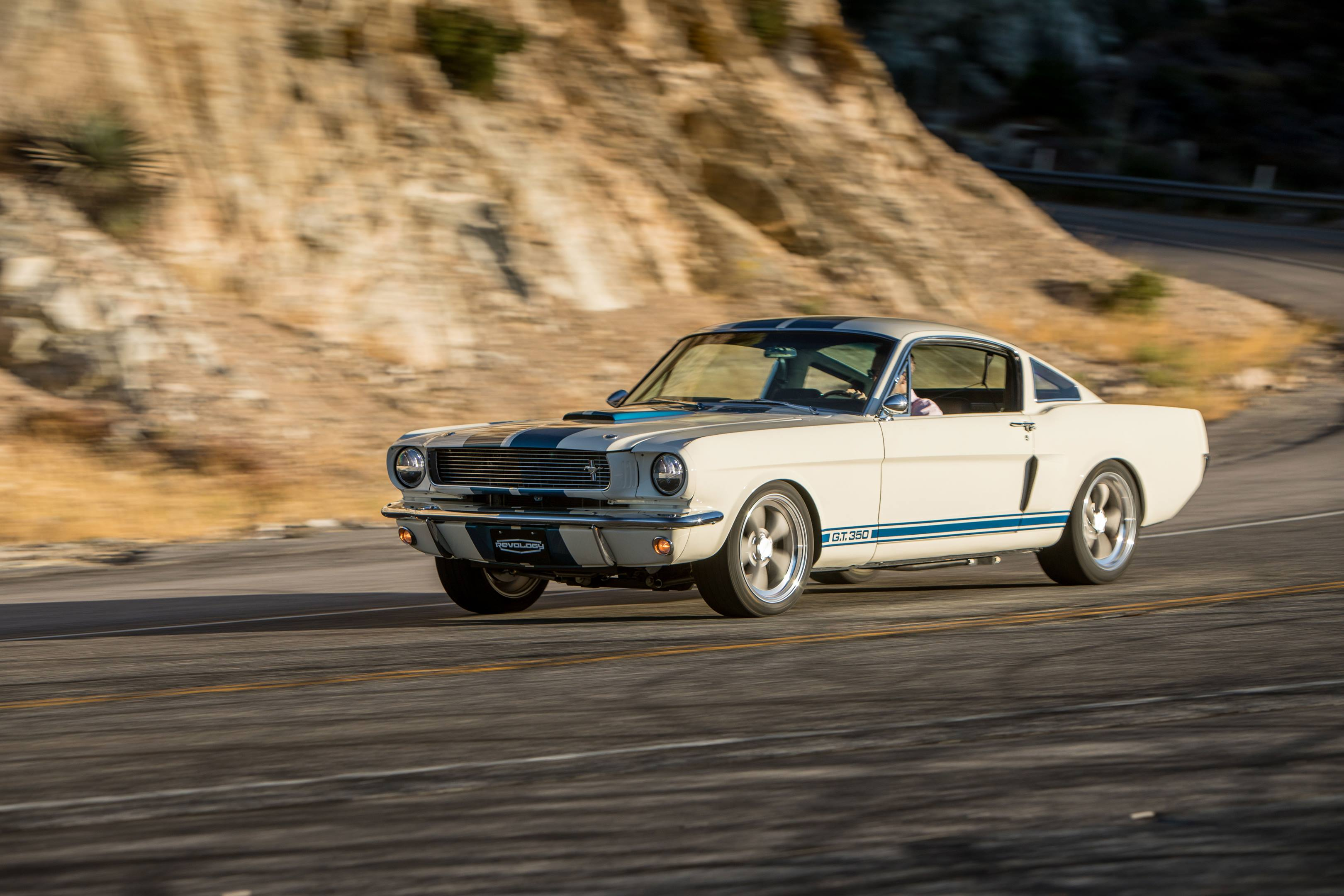 Revology GT350 driving front 3/4