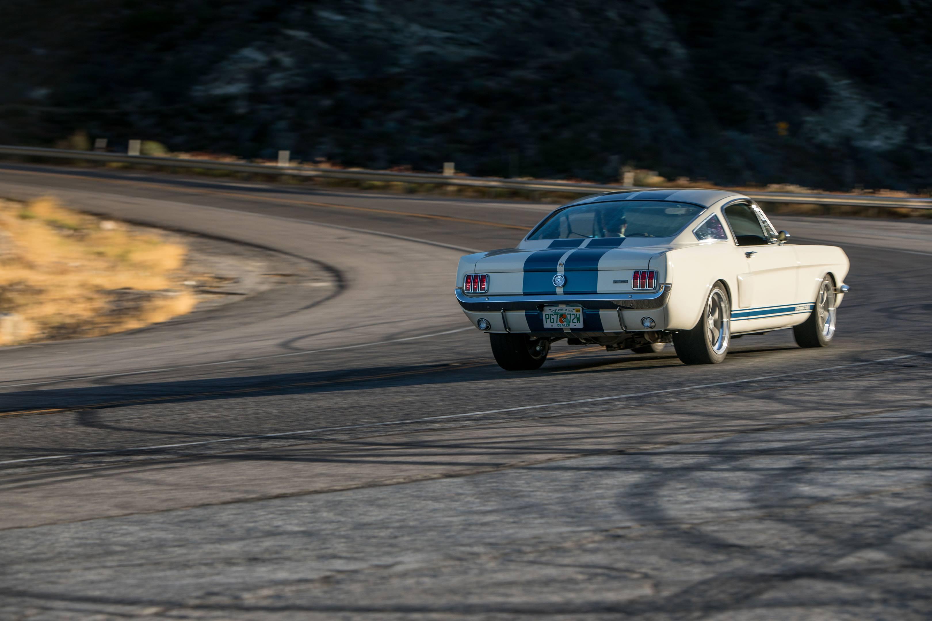 Revology GT350 driving rear 3/4