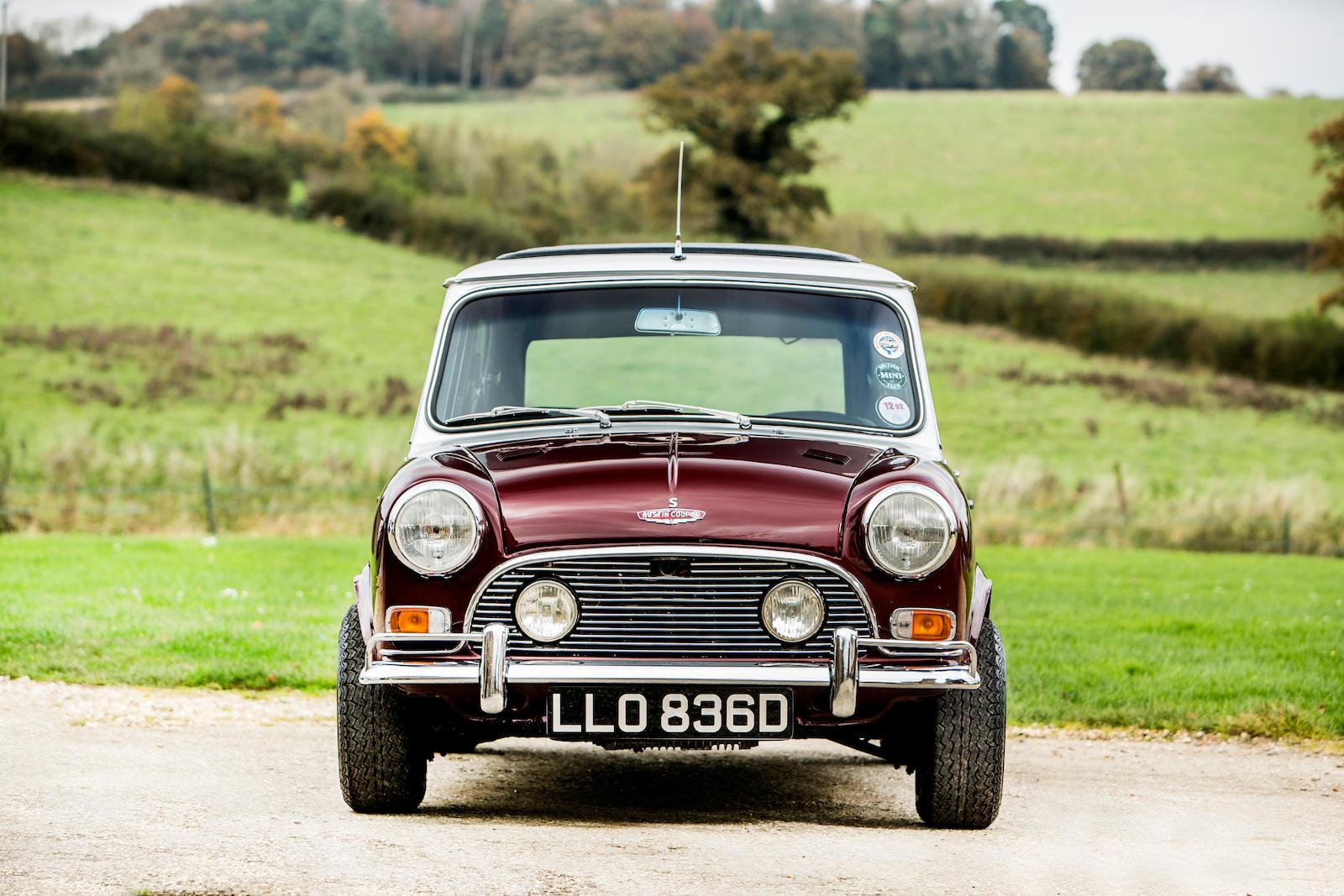 1966 Austin Mini Cooper S front