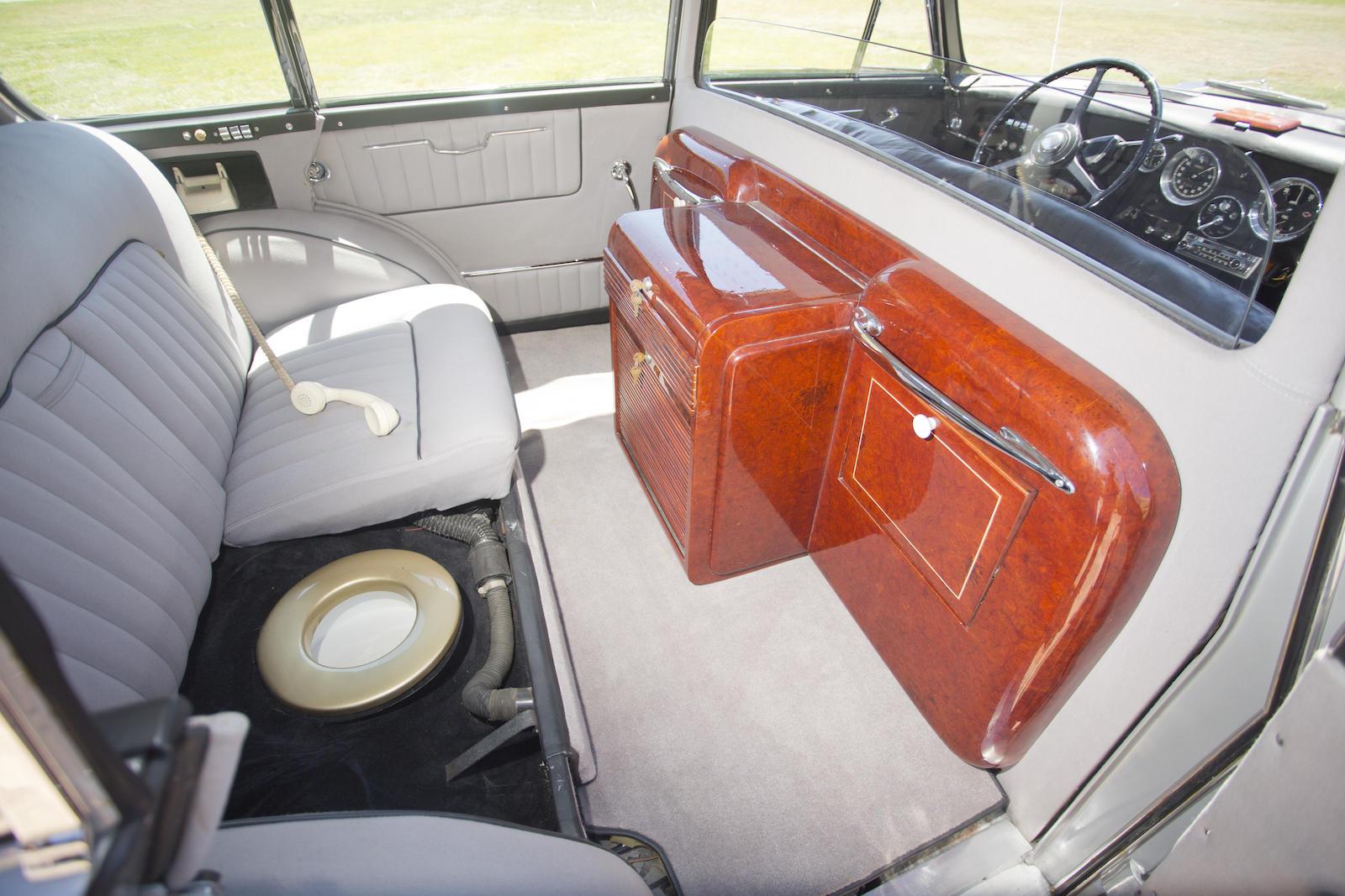 Vignale Rolls-Royce interior