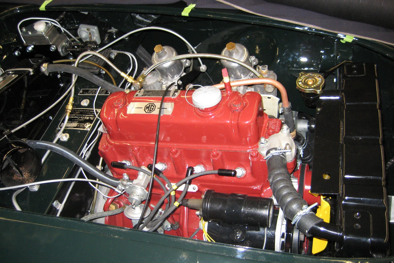1957 MGA Engine