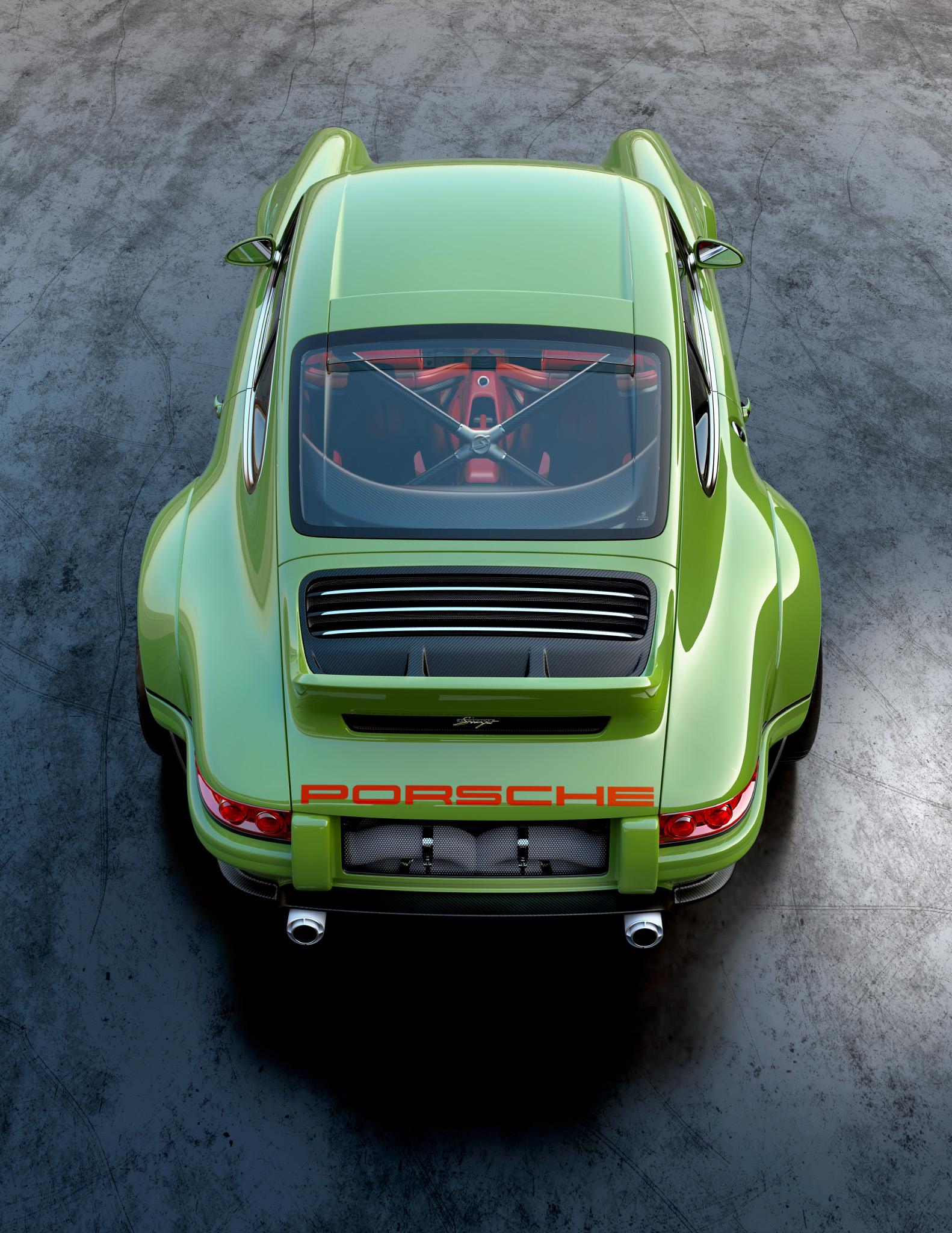1990 Porsche 911 rear high