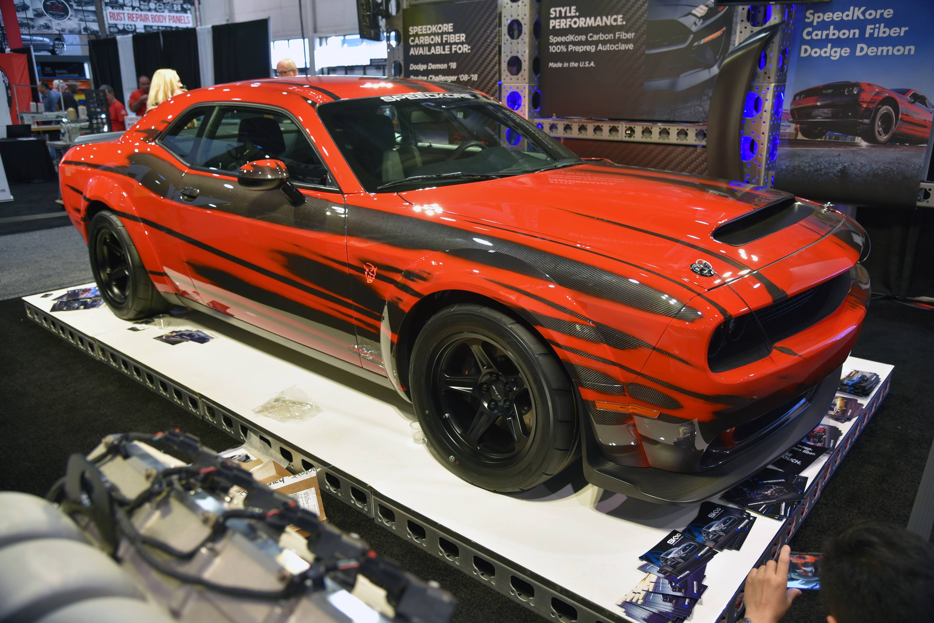 SpeedKore's carbonized Dodge Demon thumbnail