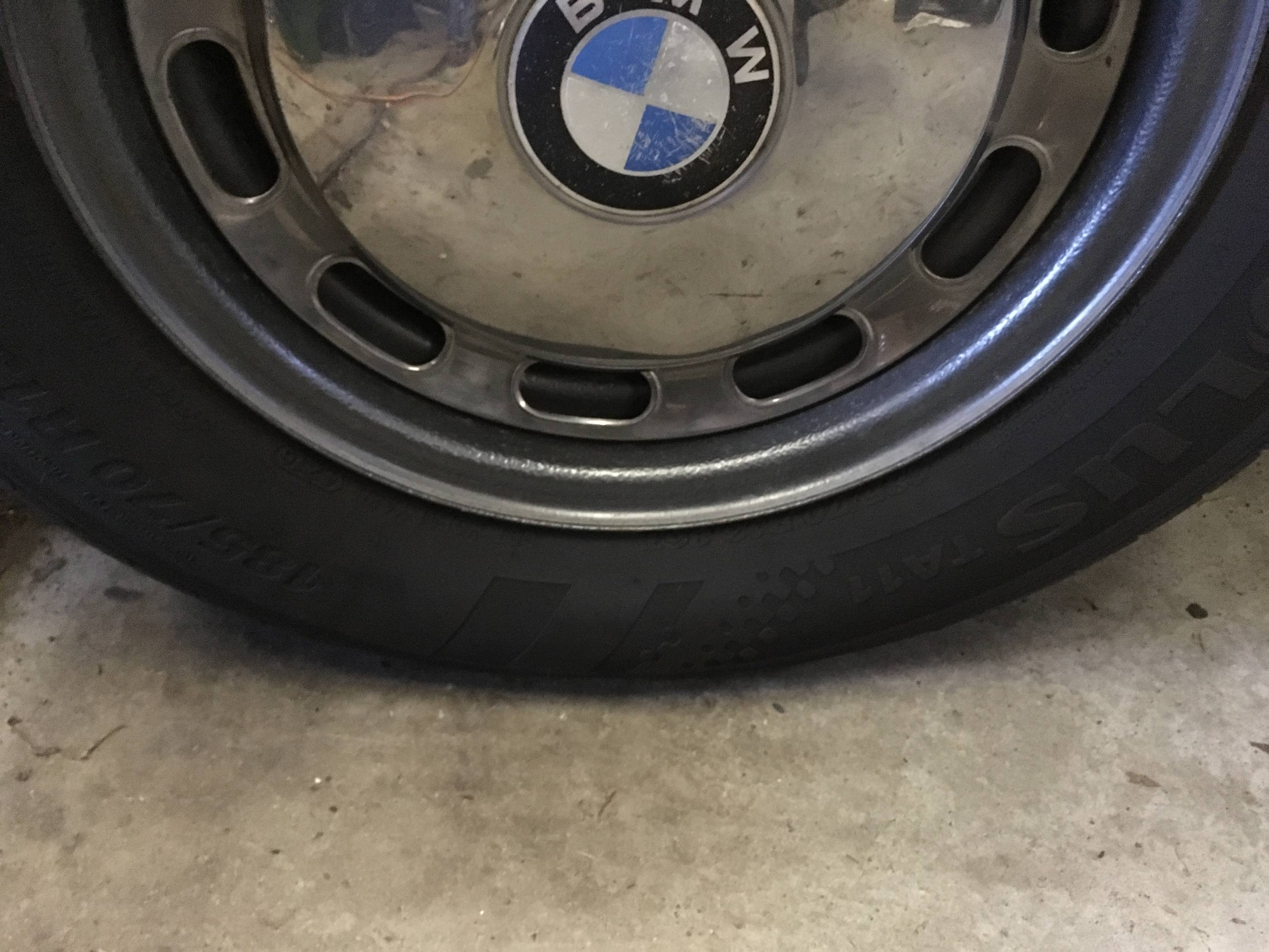 Tires do get flat-spotted. If possible, move the car every few months.