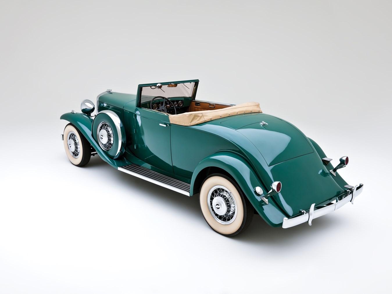 1932 Marmon Sixteen rear