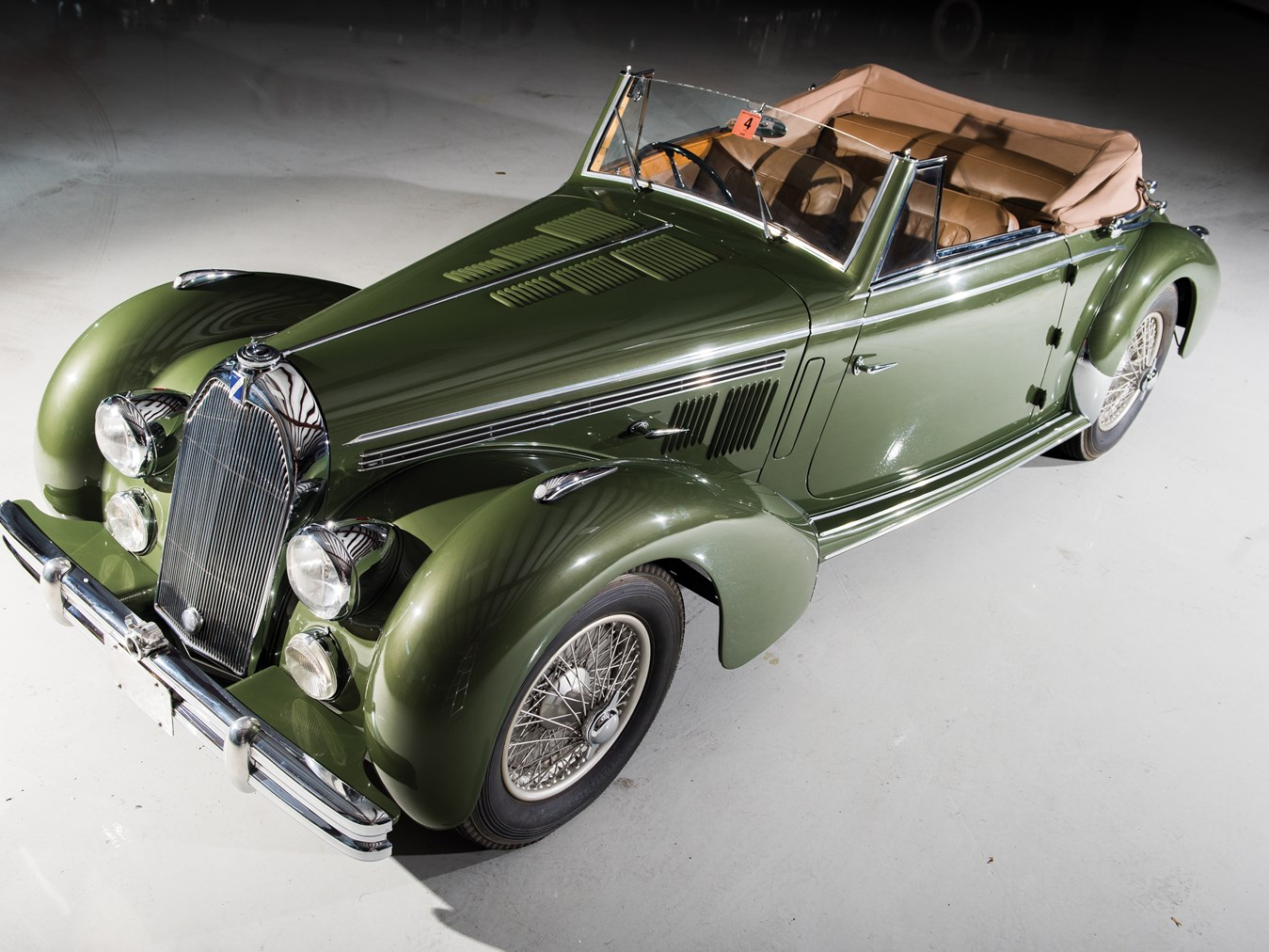 1947 talbot lago record cabriolet rm auction