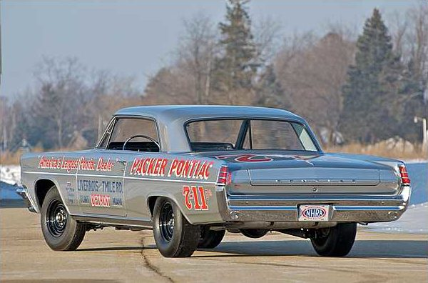1963 Pontiac Catalina Super Duty SD LH rear corner