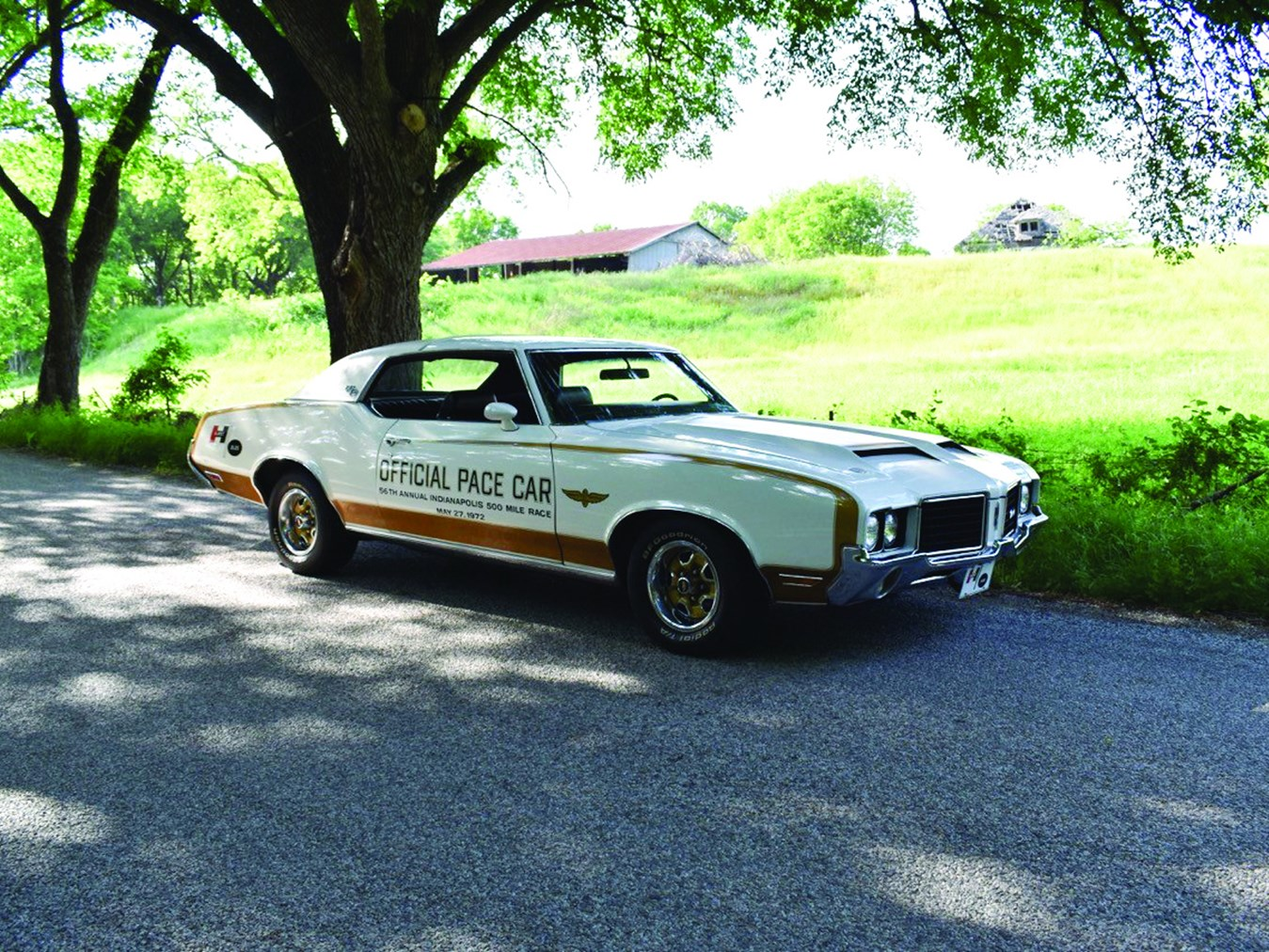 Hurst 442 oldmosbile pace car indy 500 rm auction