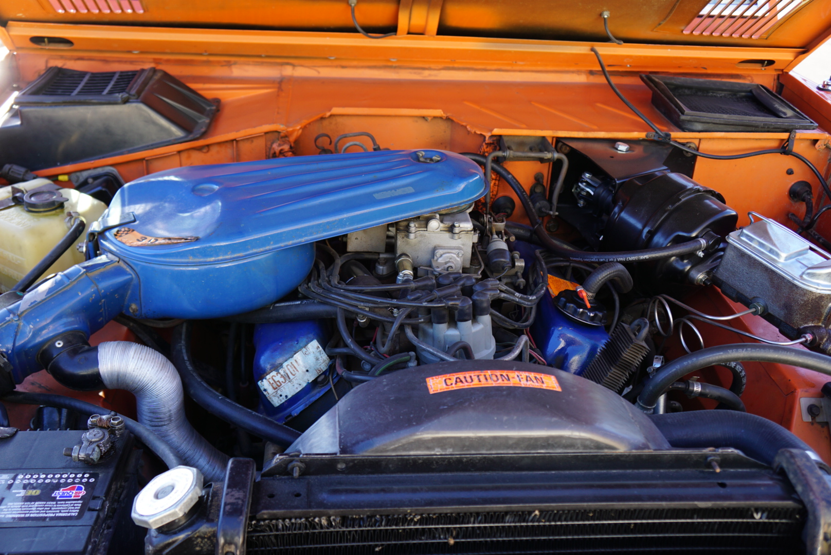 1974 Ford Bronco engine