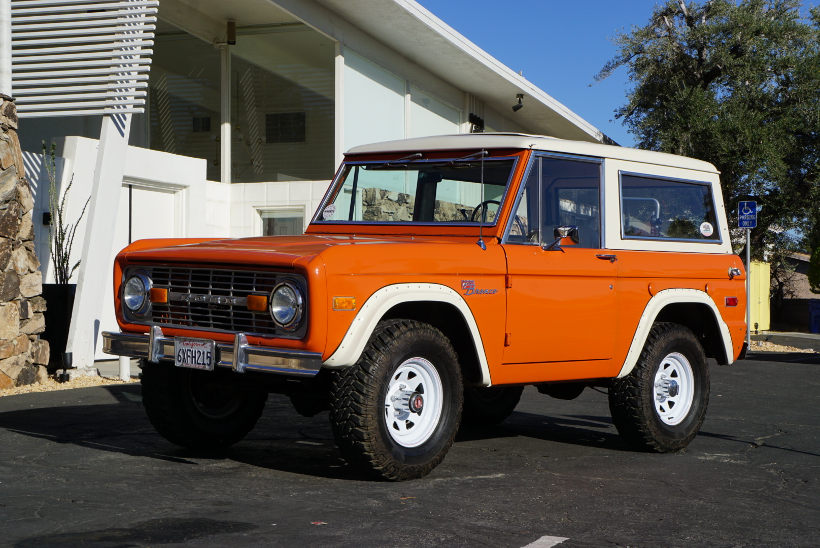 1974 Ford Bronco front three quarter