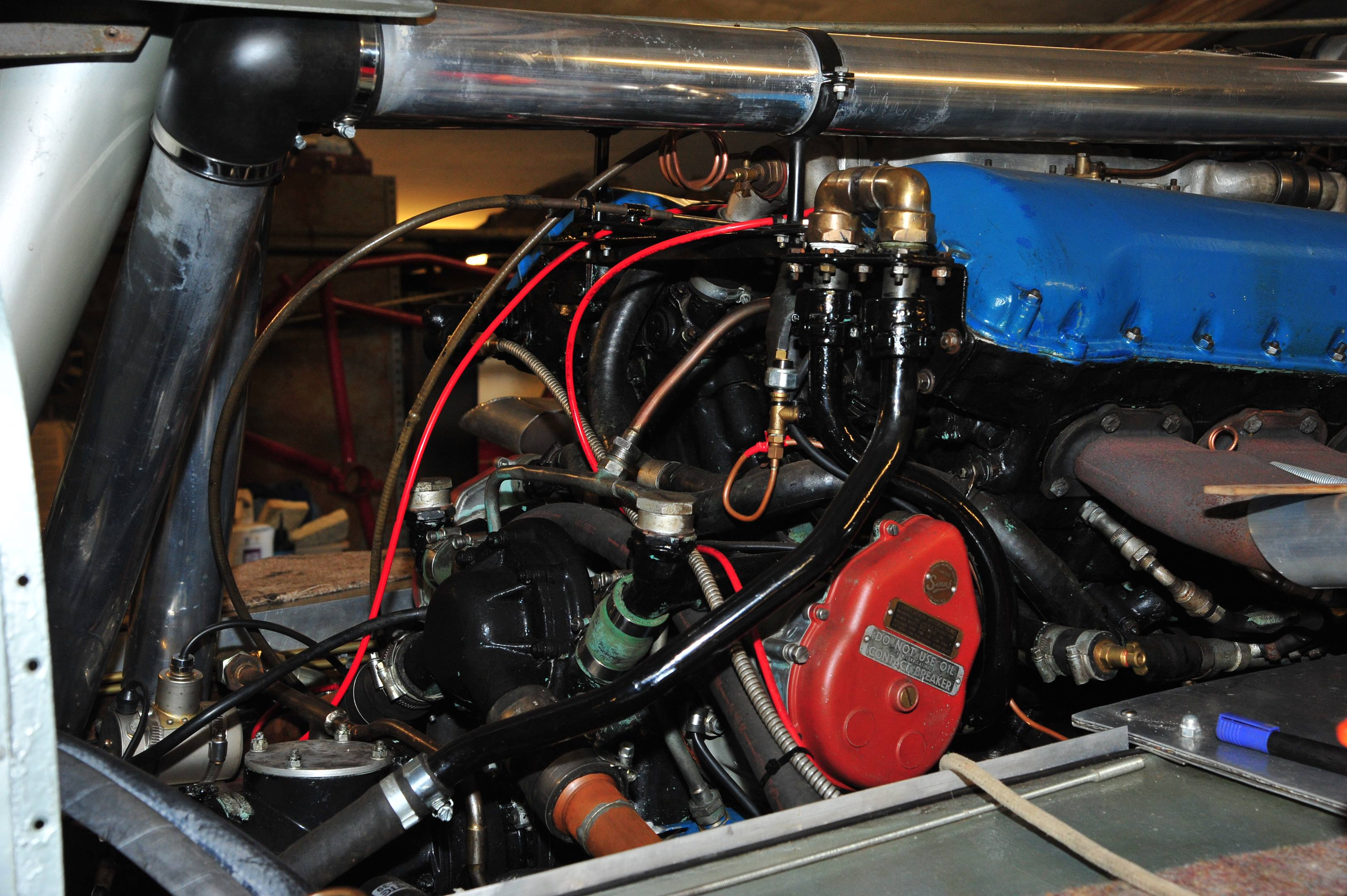 Blue Bird K3 boat motor