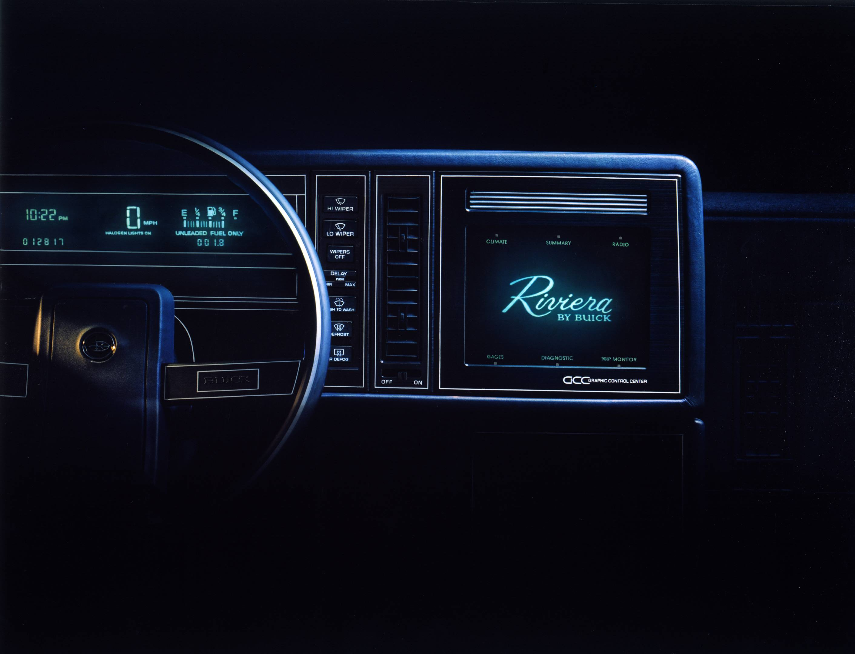 Infotainment systems? That's so 1986