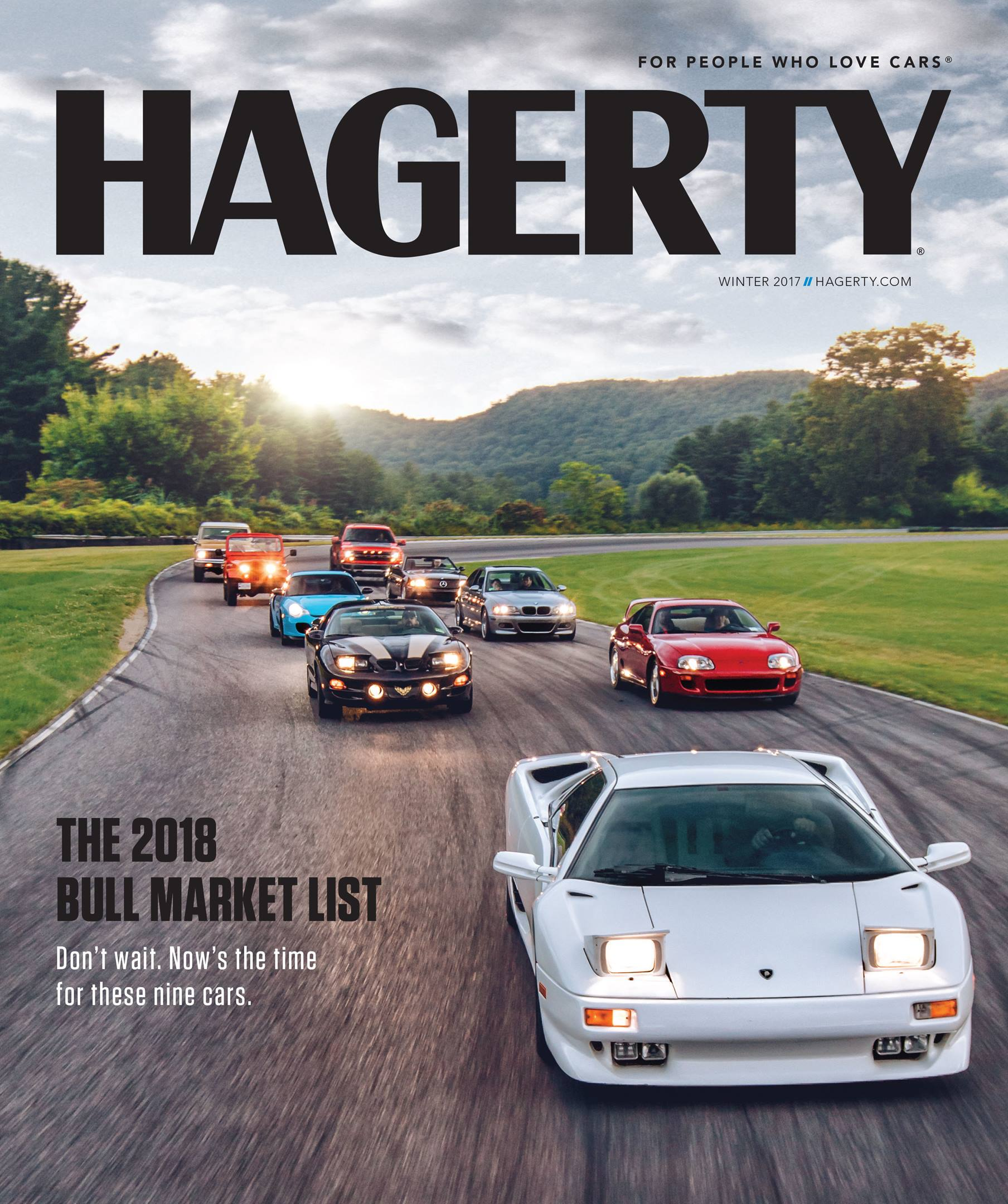 Hagerty magazine cover