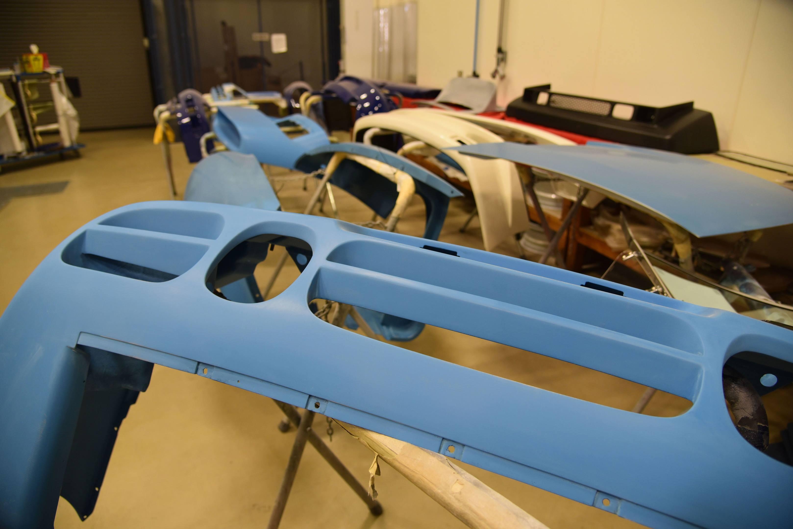 Porsche 959 body parts