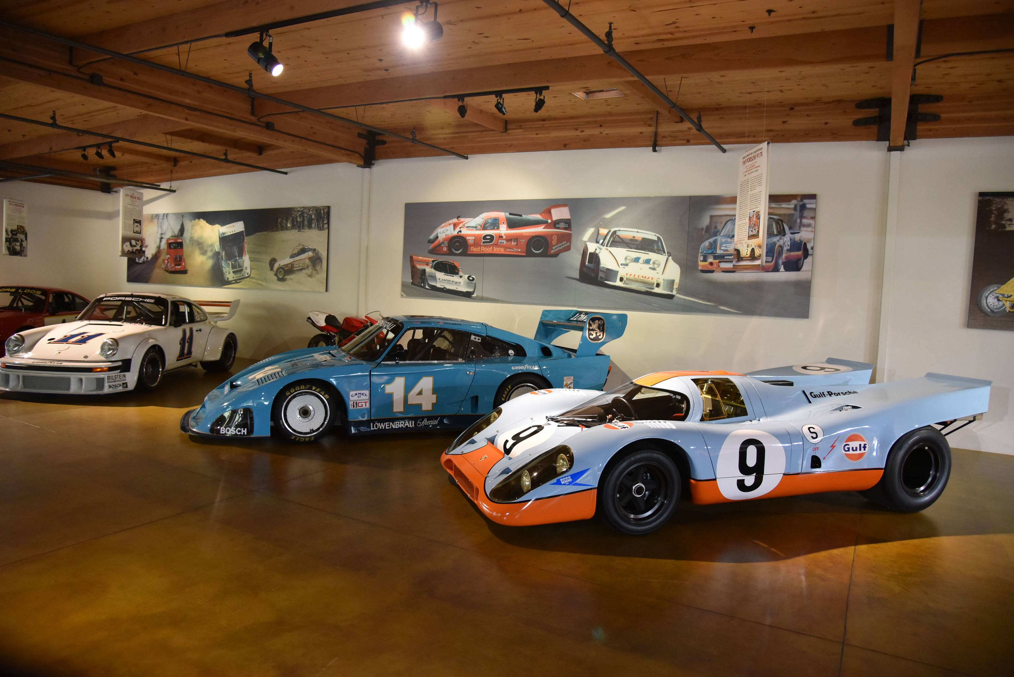 Canepa porsche showroom