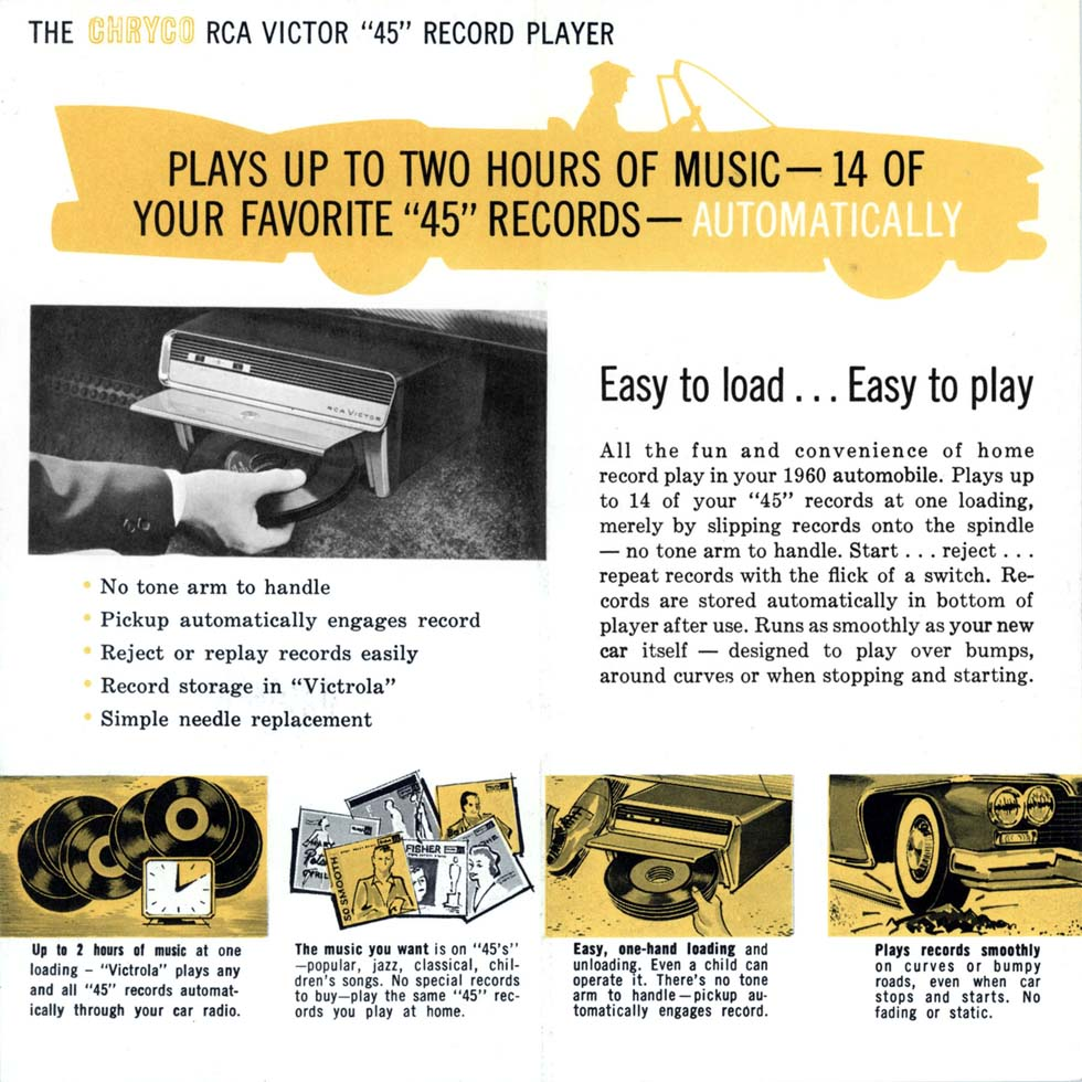 An ad for the RCA Auto Victrola