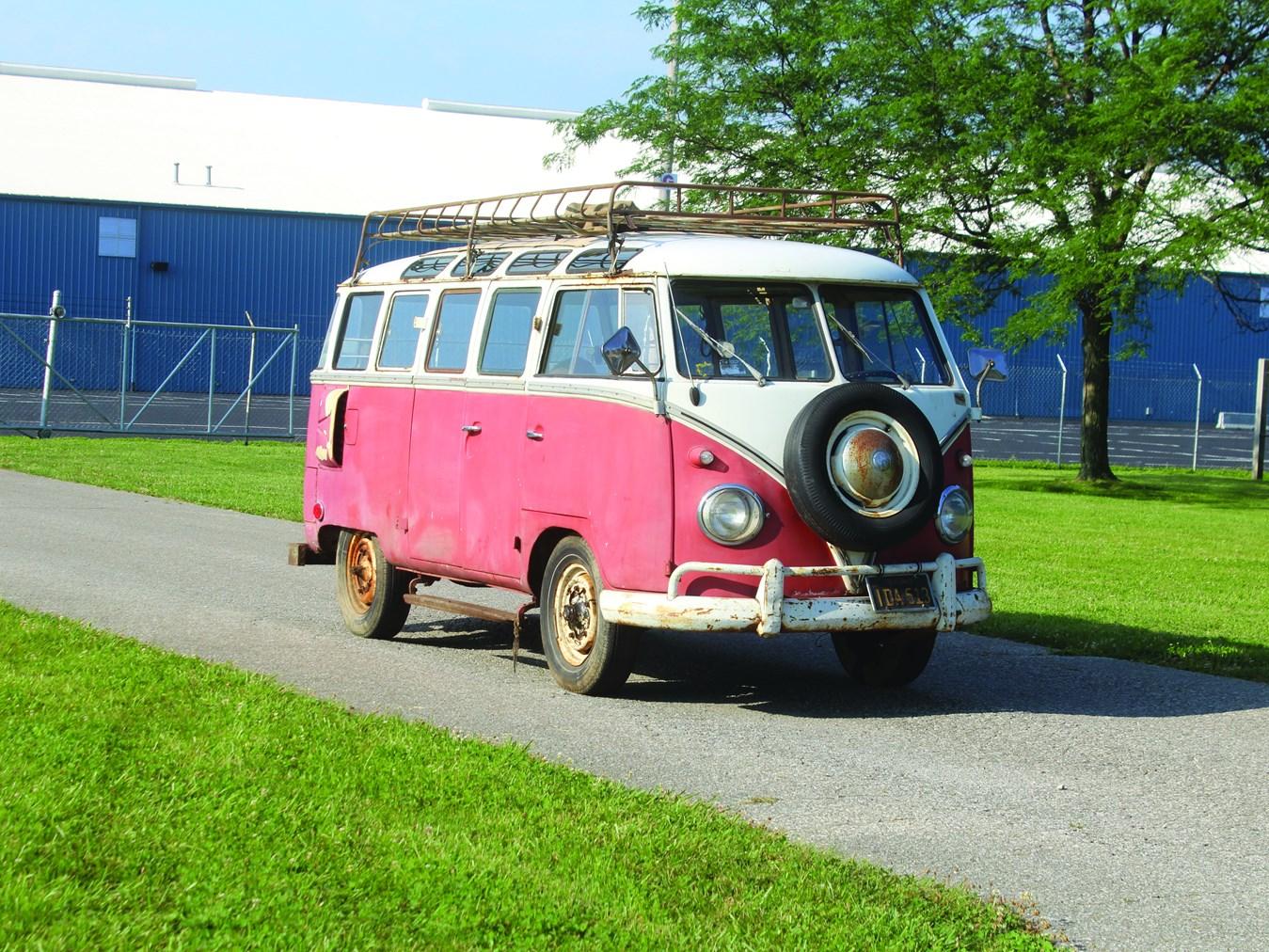 1959 Volkswagen Type 2 Microbus 23-window
