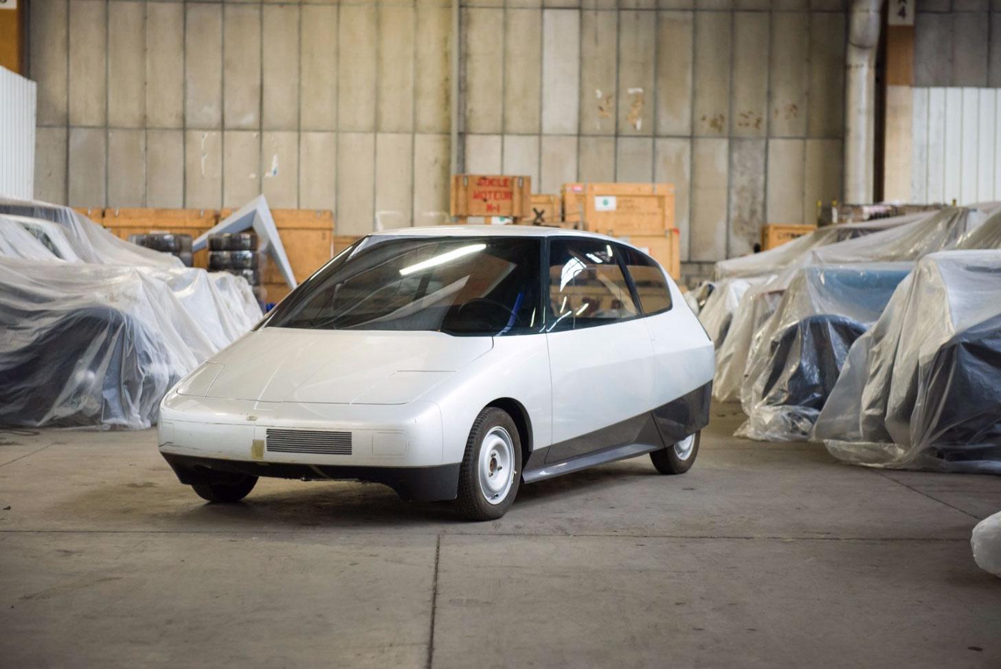 1983 Citroën Eco 2000 Blanche