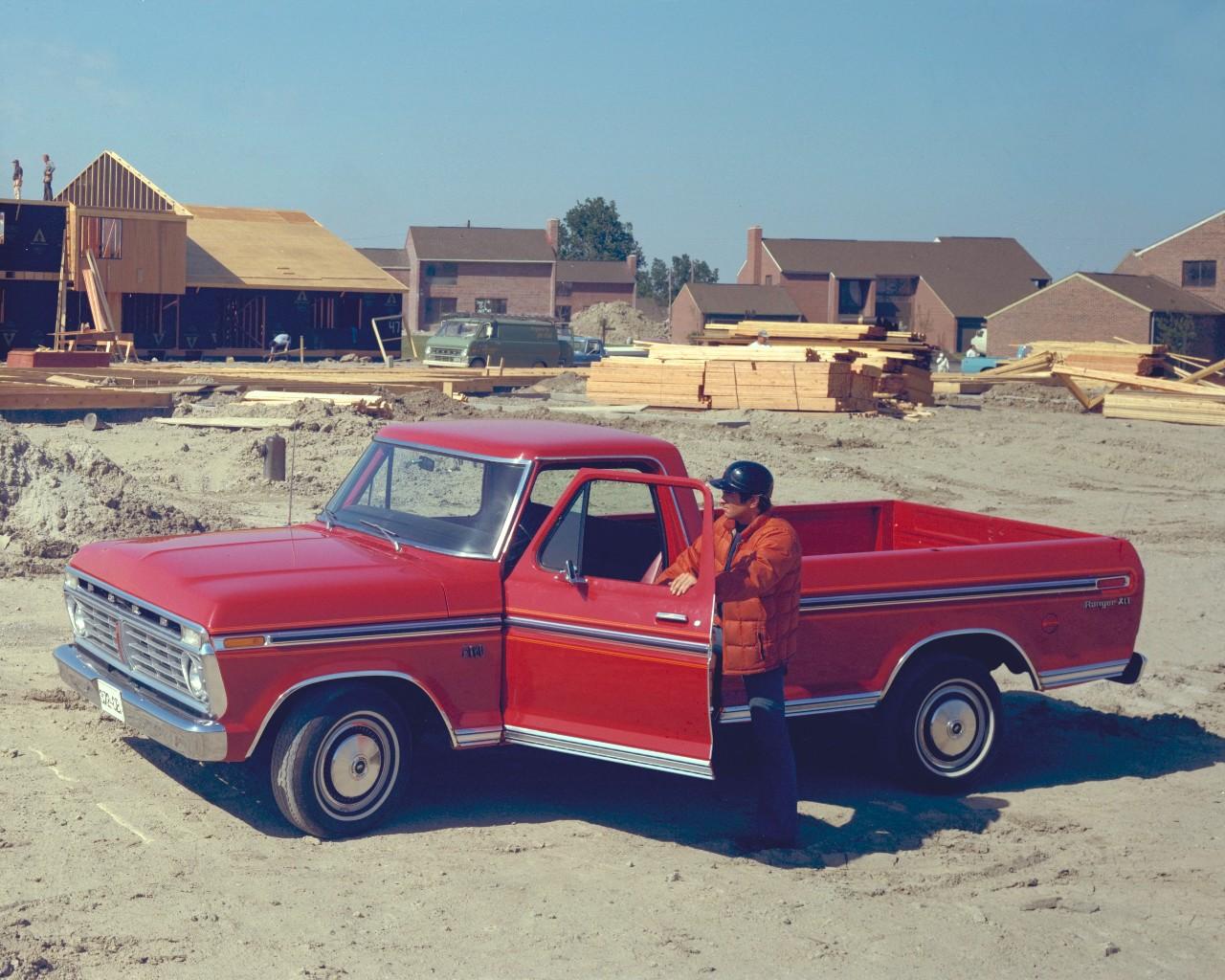 1975 Ford F-150 pickup truck