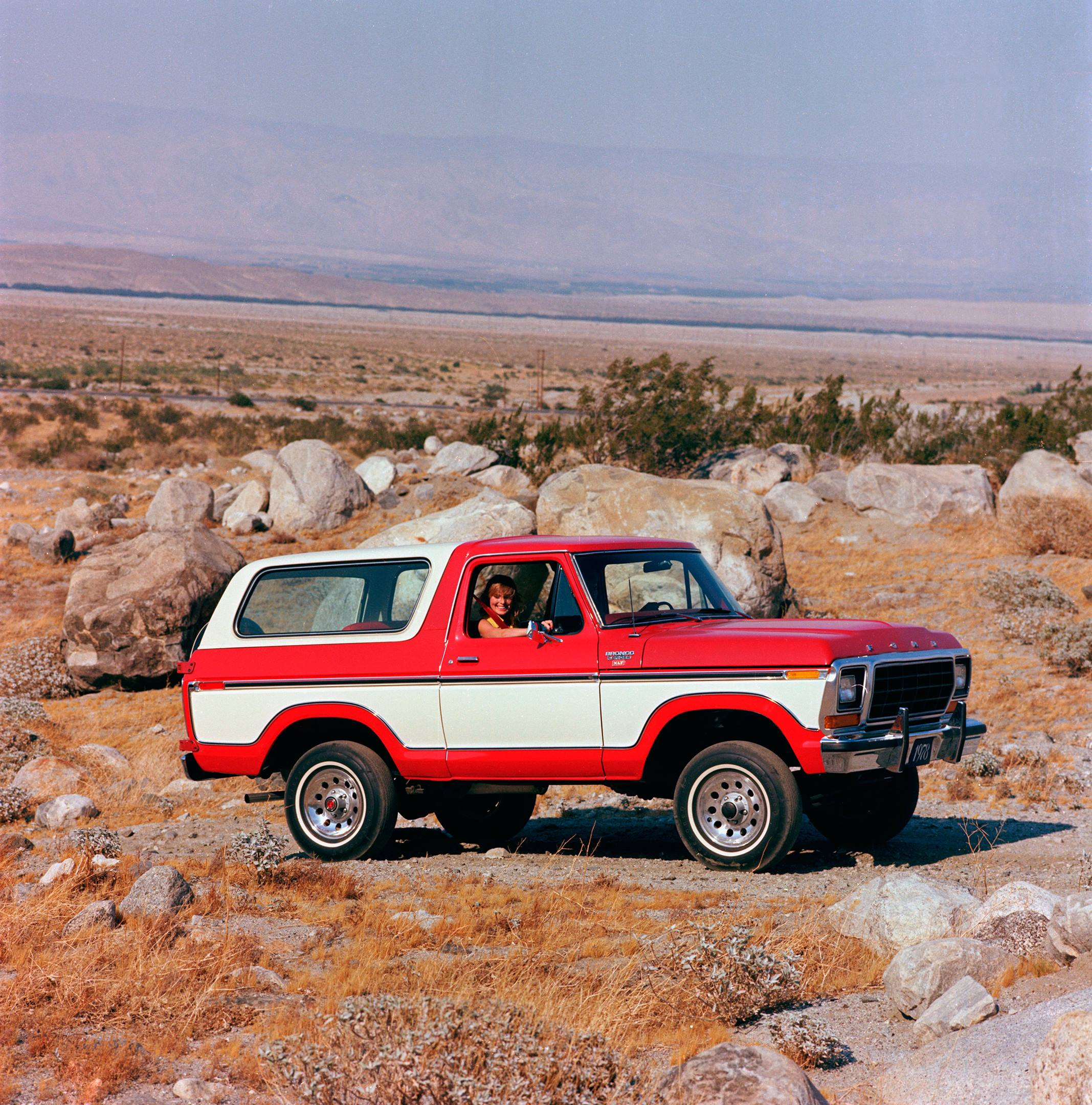 Generation II Ford Bronco
