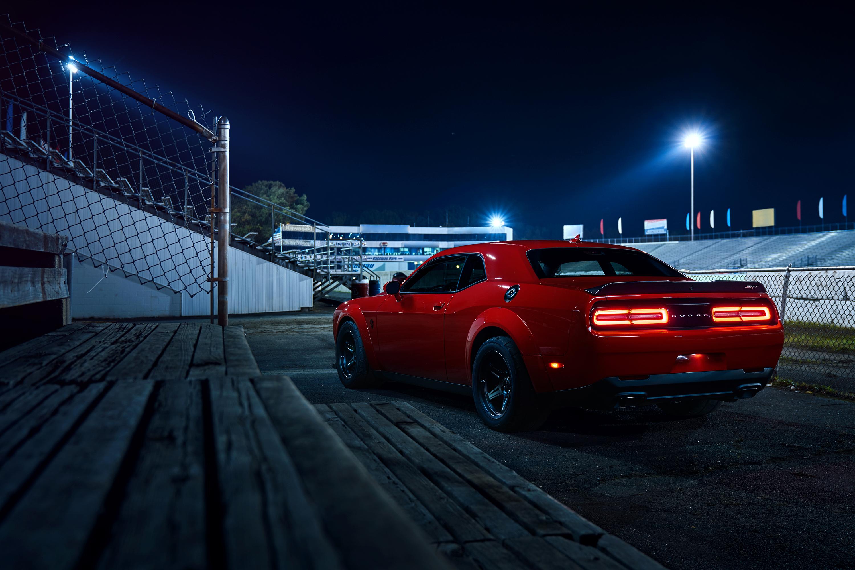 Driving a 2018 Dodge Challenger SRT Demon thumbnail