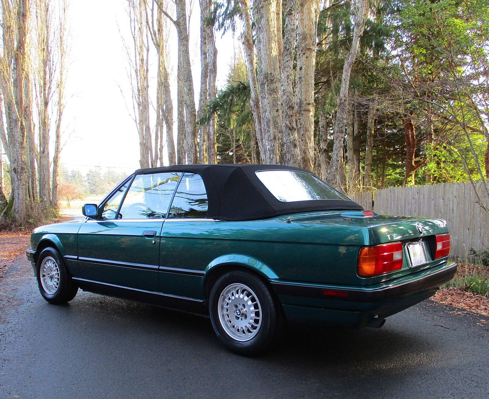318i convertible bmw top up rear