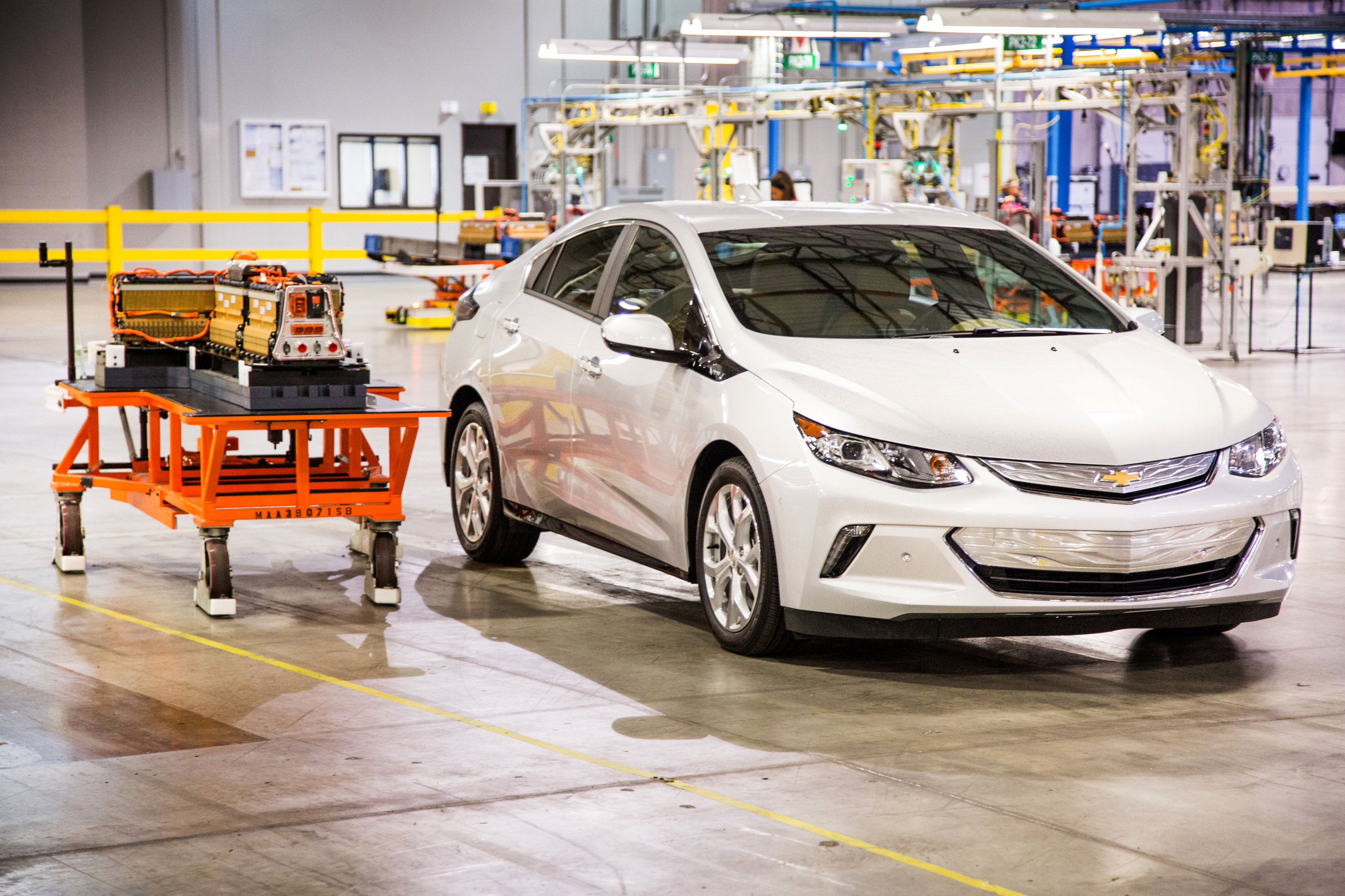 GM Brownstown Battery Plant Chevrolet Volt