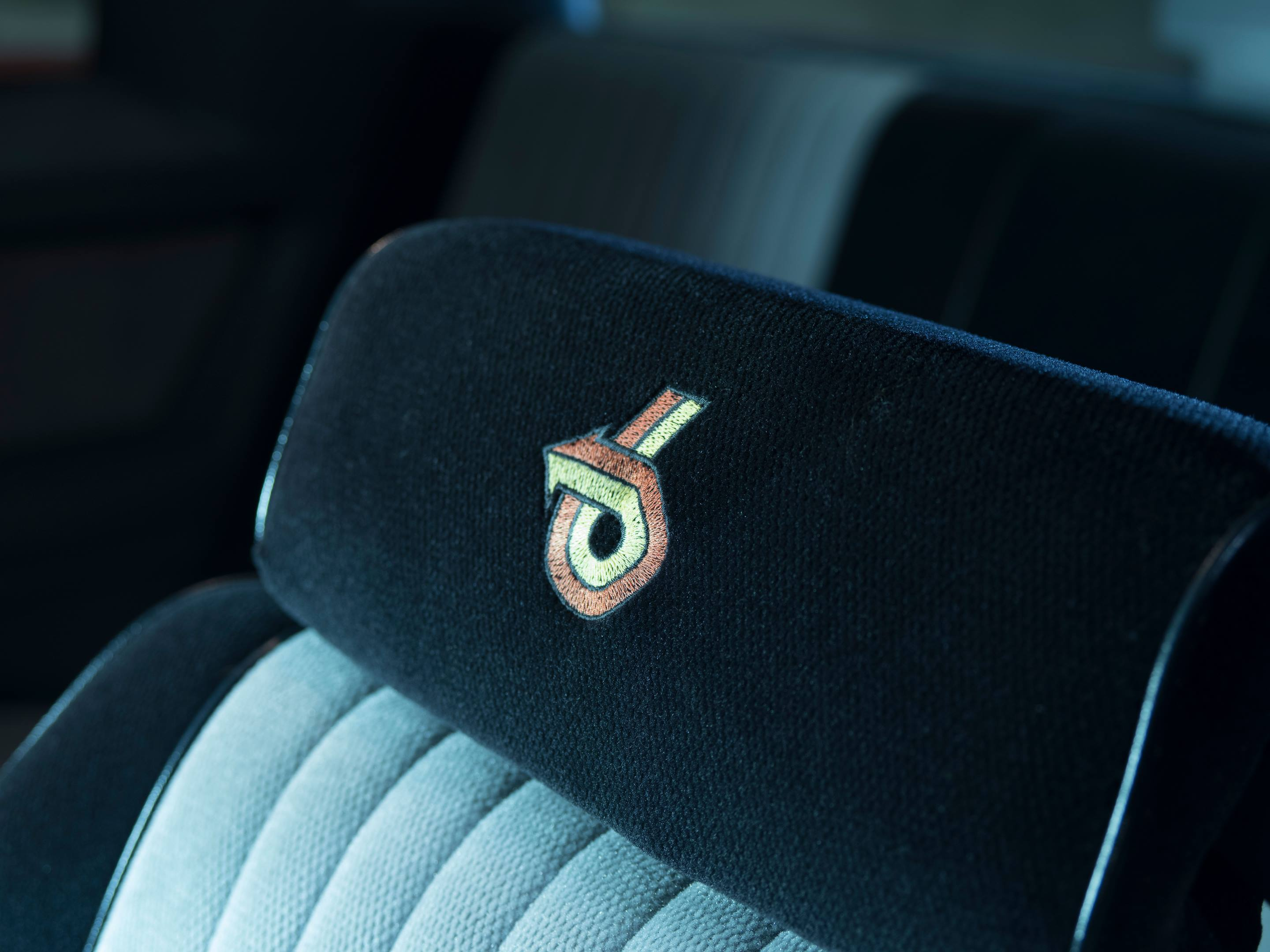 1987 Buick GNX seat detail