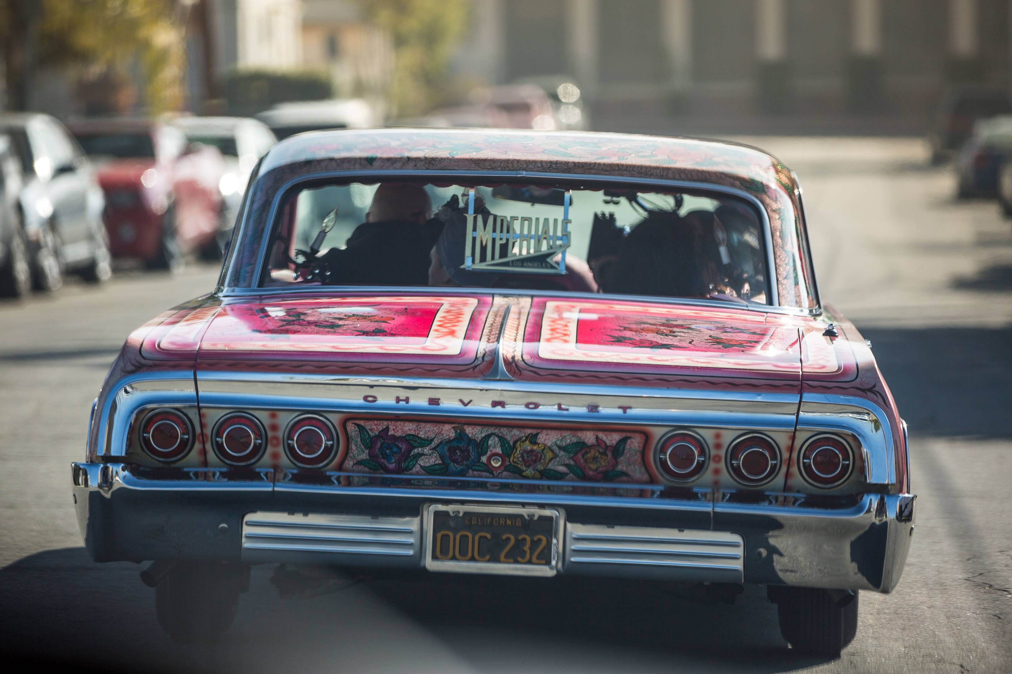 1964 Chevy Impala known as Gypsy Rose rear