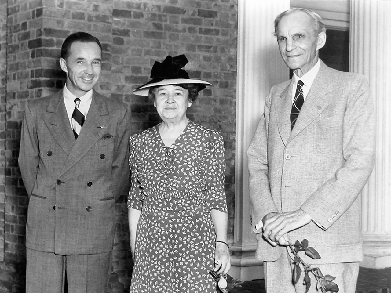 Henry Ford at the Edision Institute dedication in 1929