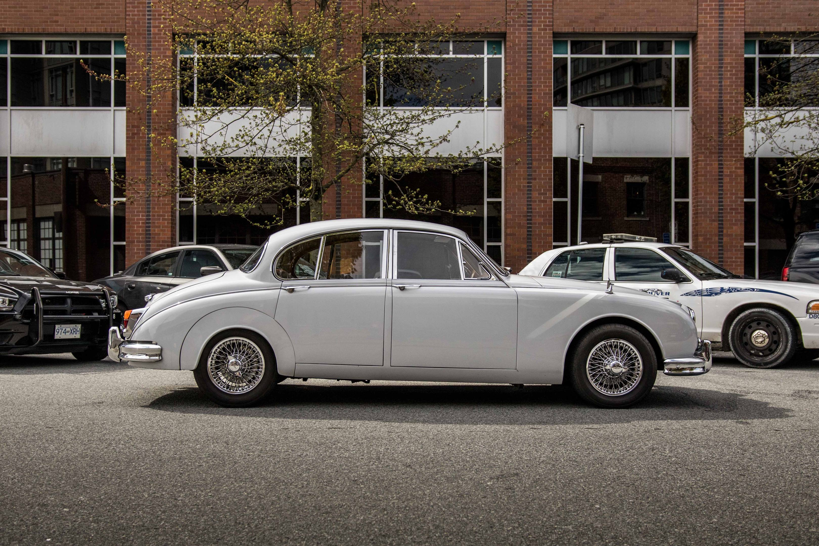 Jaguar Mark II profile