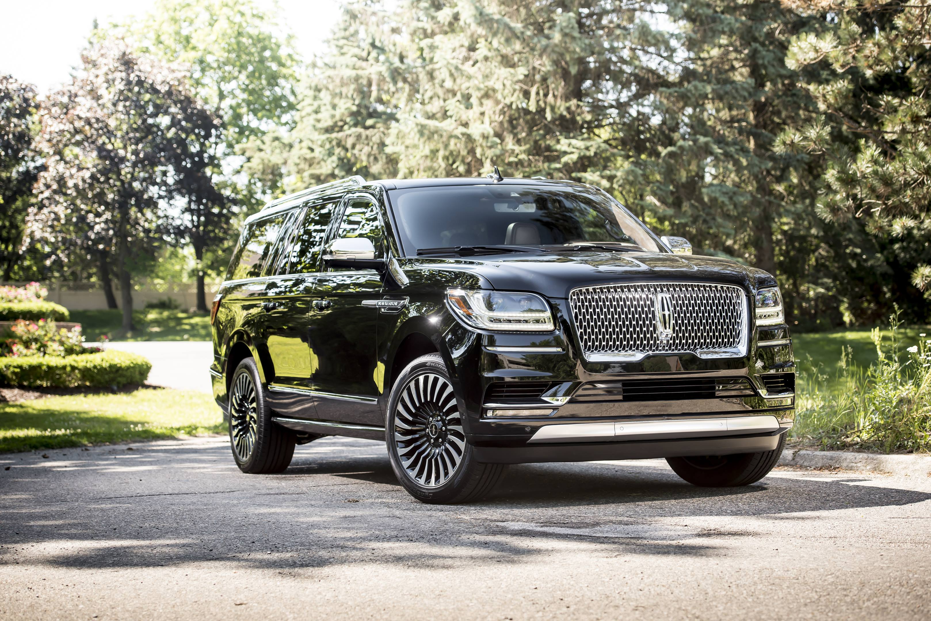 2018 lincoln navigator front turbine wheels