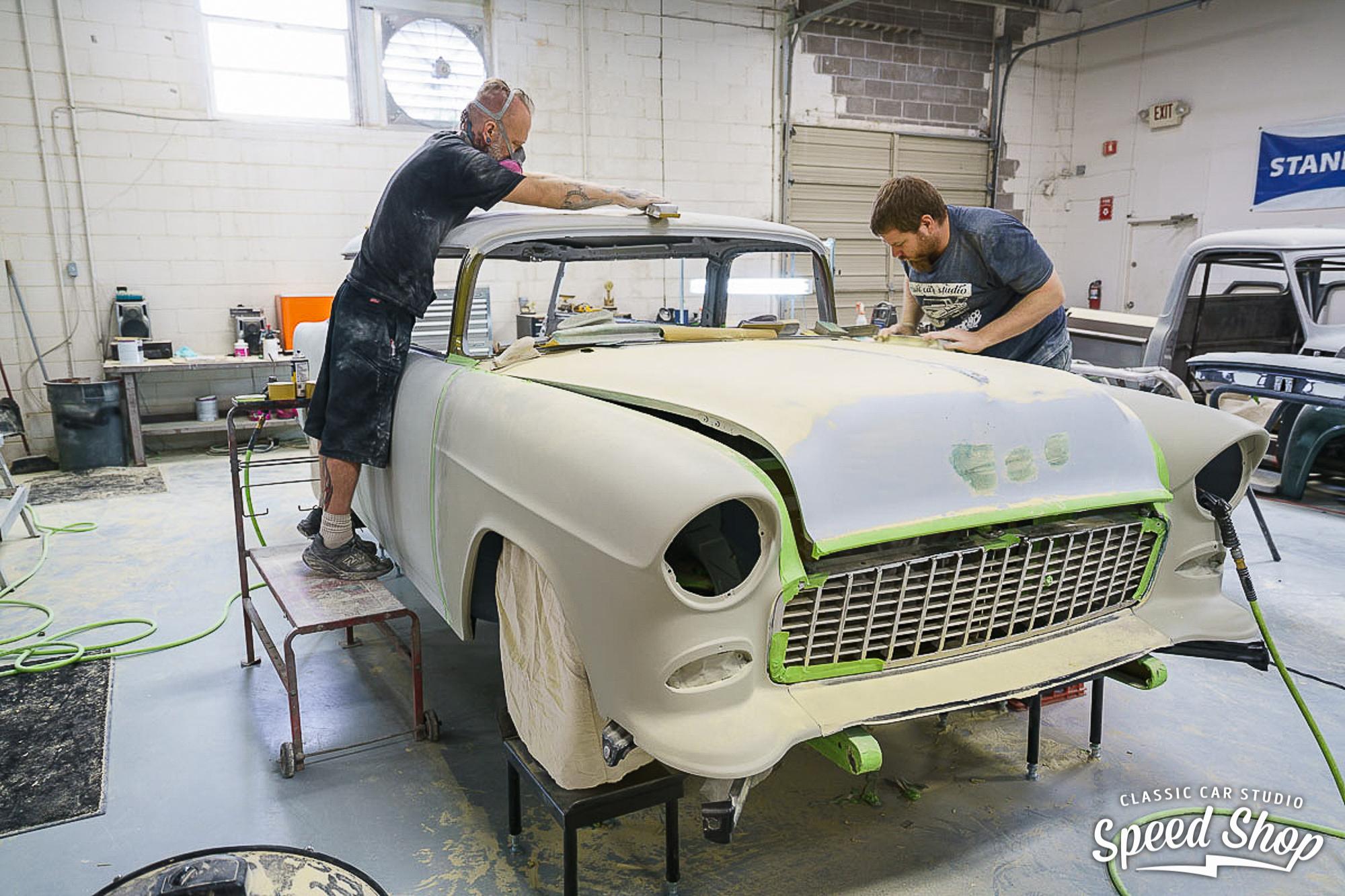 1955 Chevrolet Nomad pre restoration