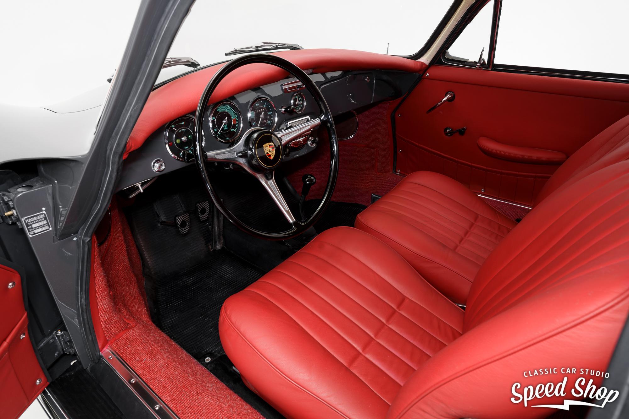 1964 Porsche 911 interior