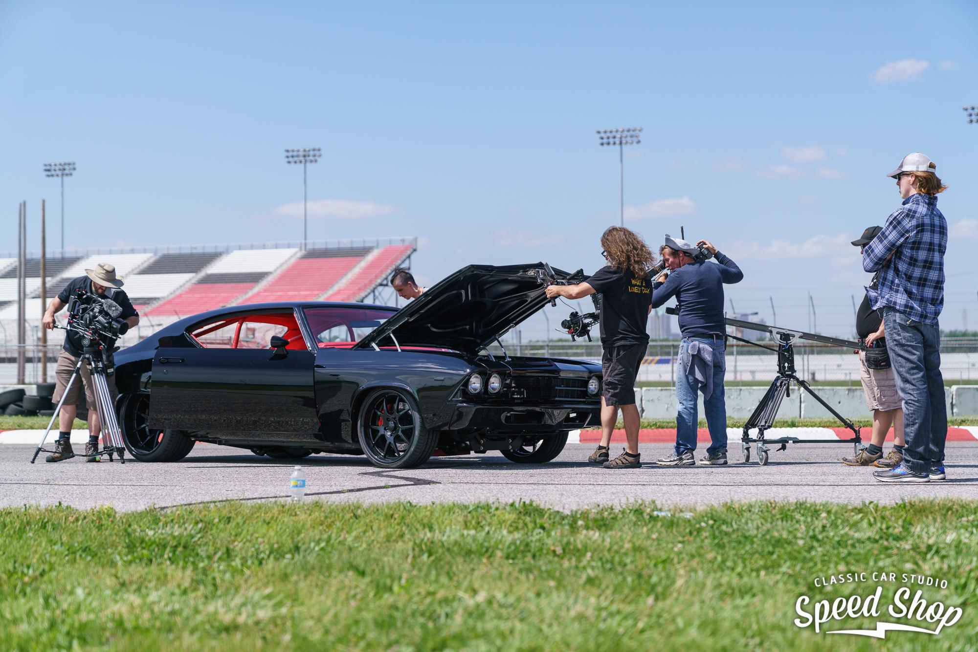 behind the scenes Classic Car Studio Speed Shop