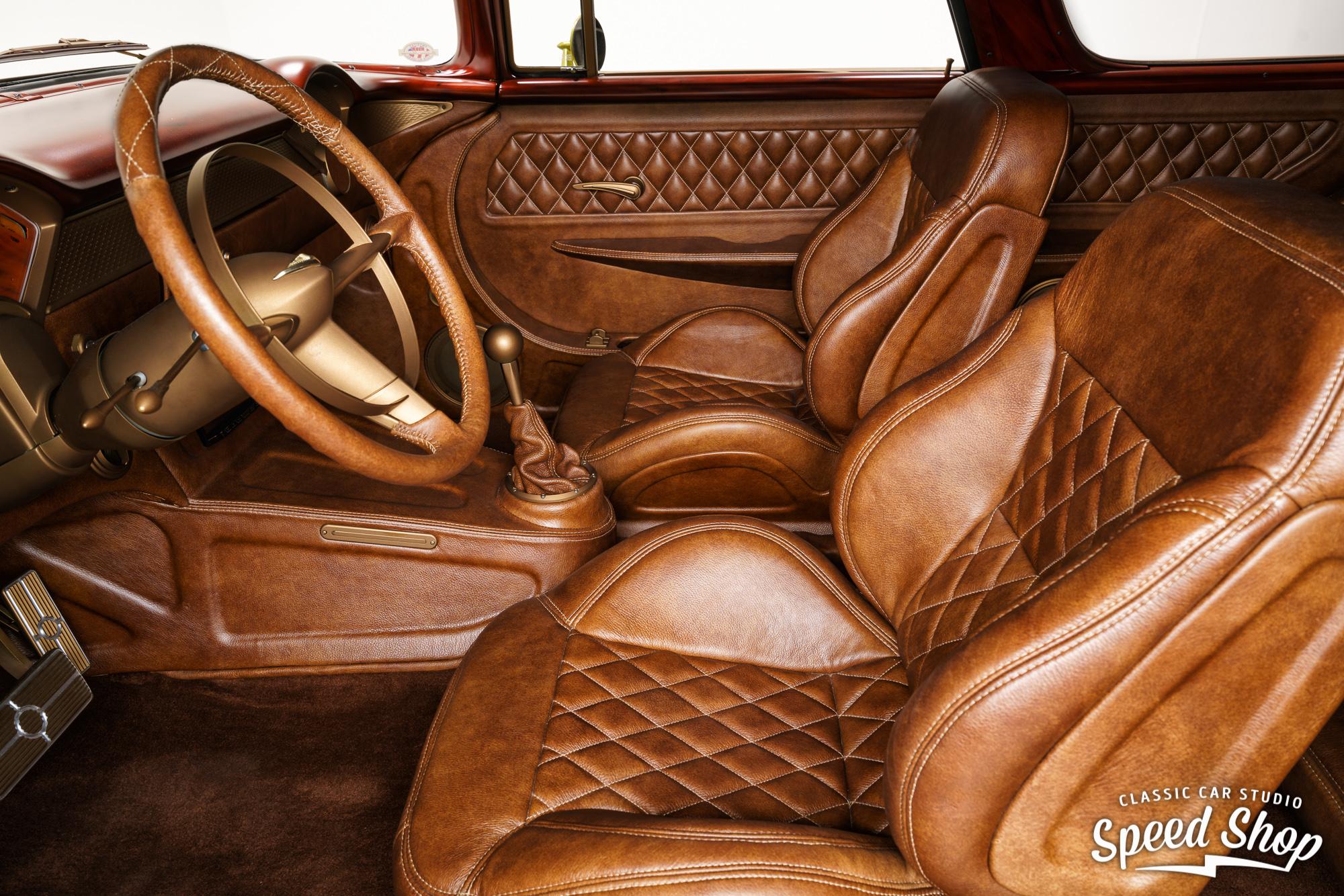 1955 Chevrolet Nomad interior