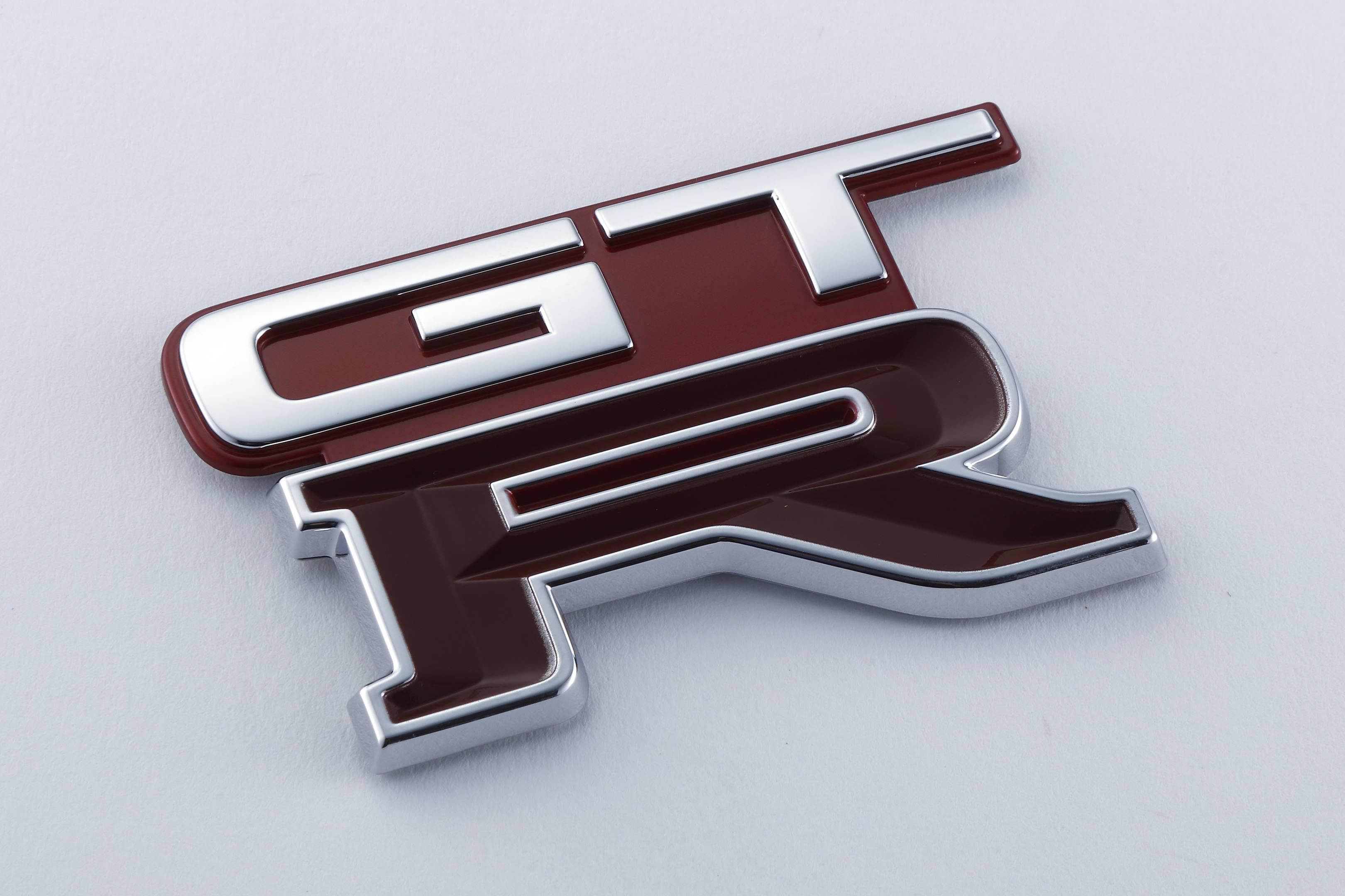 R32 GT-R rear Emblem