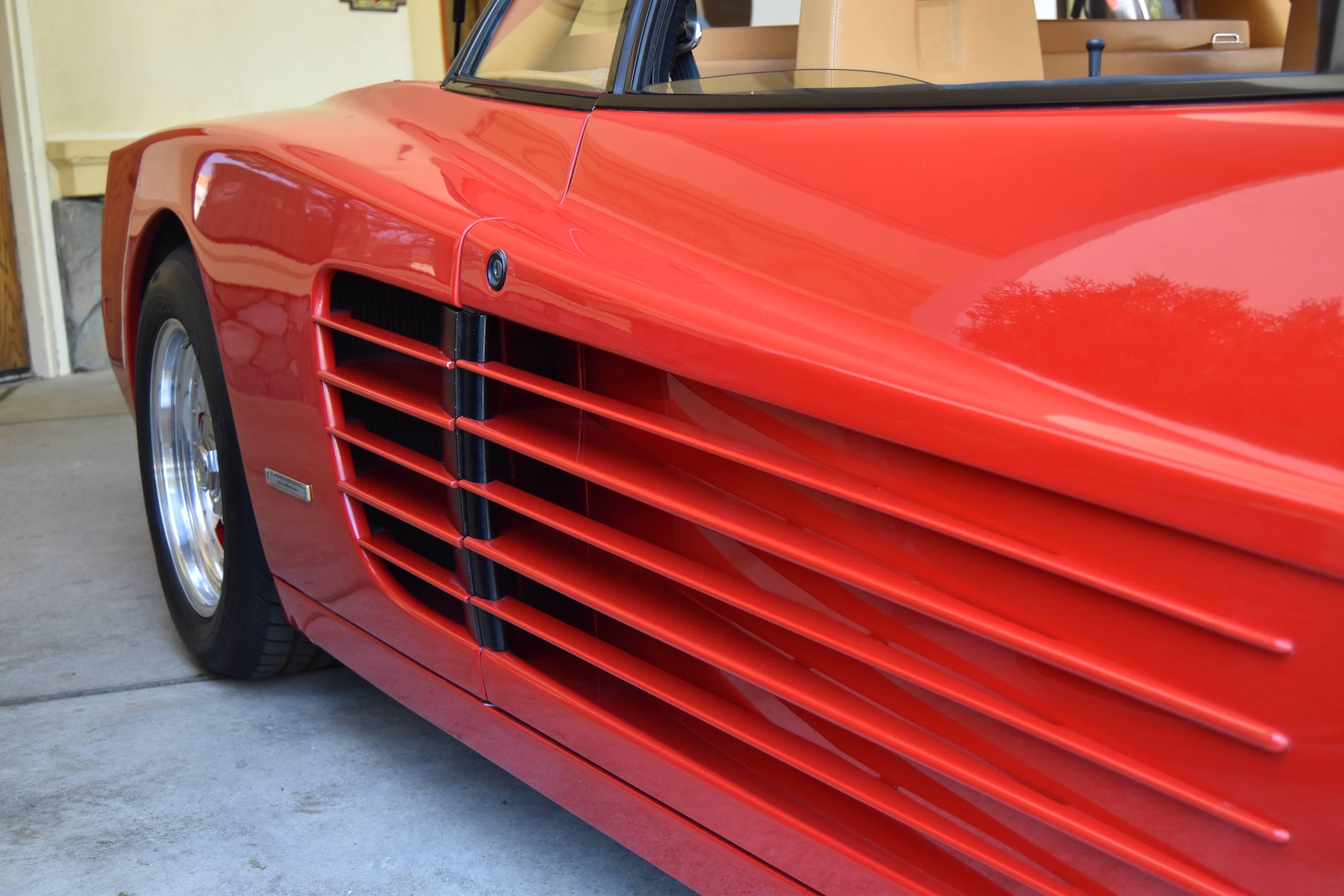 1985 Ferrari Testarossa side strakes