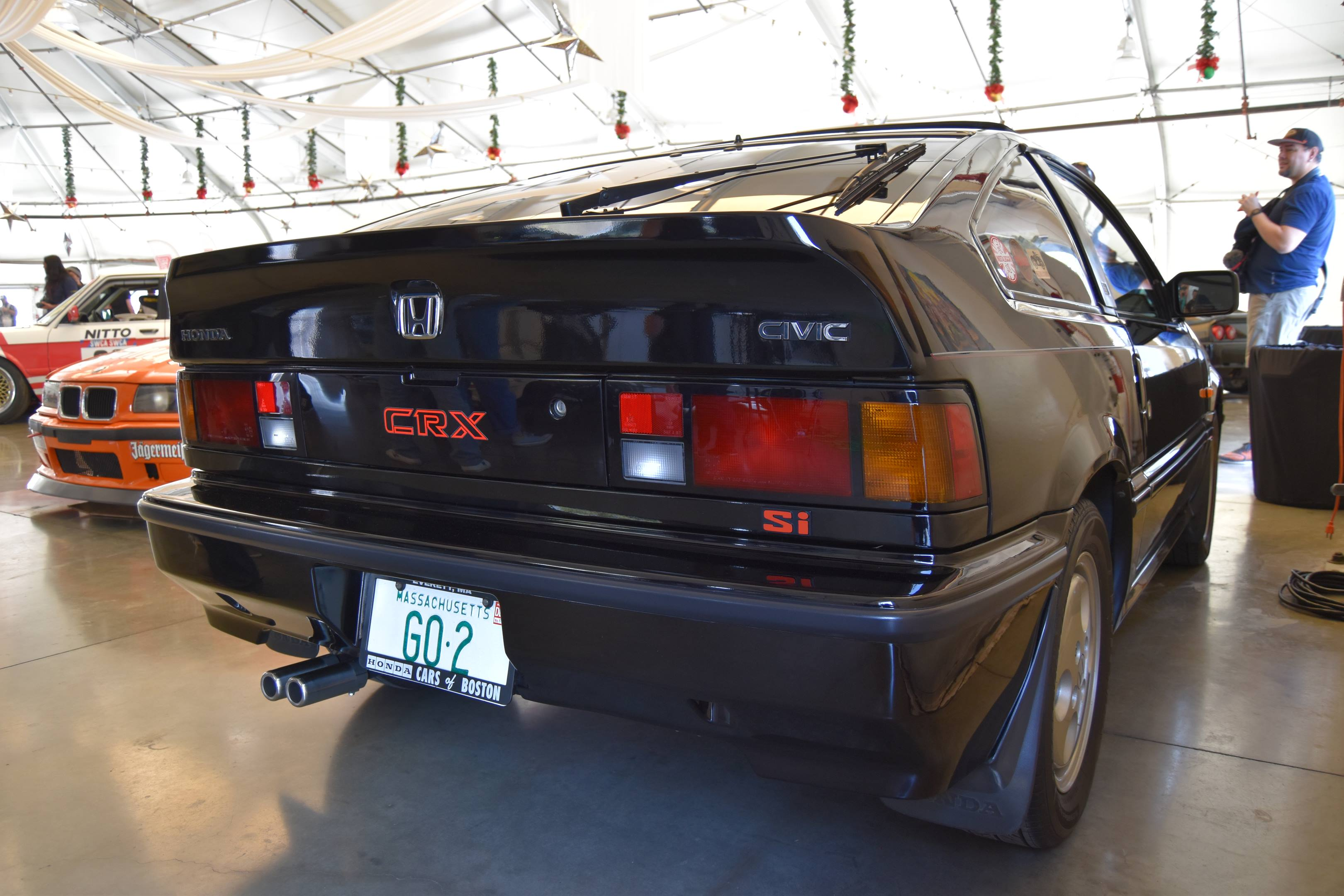 1987 Honda Civic CRX Si rear 3/4