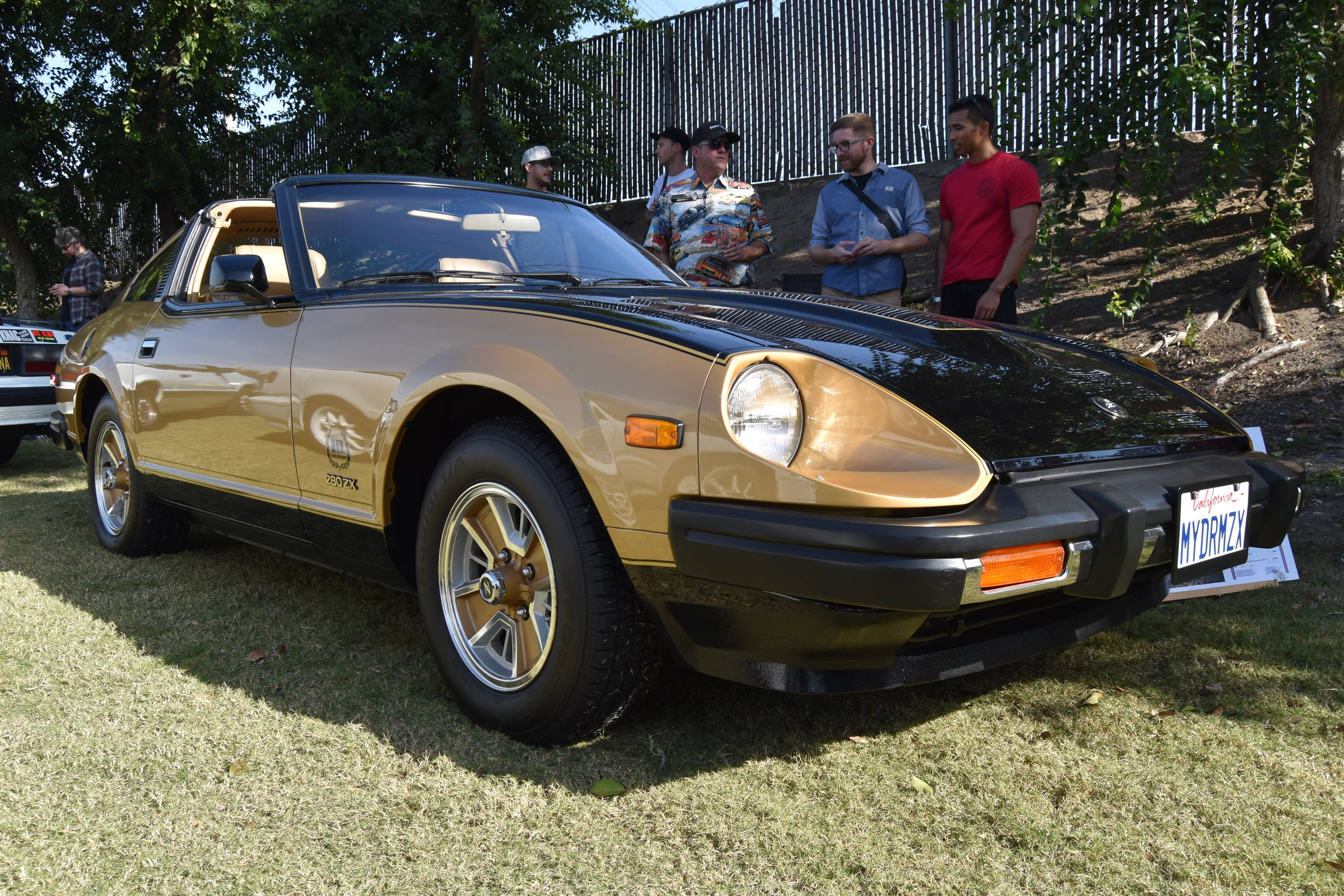 1980 Datsun 280ZX 10th Anniversary Edition front 3/4